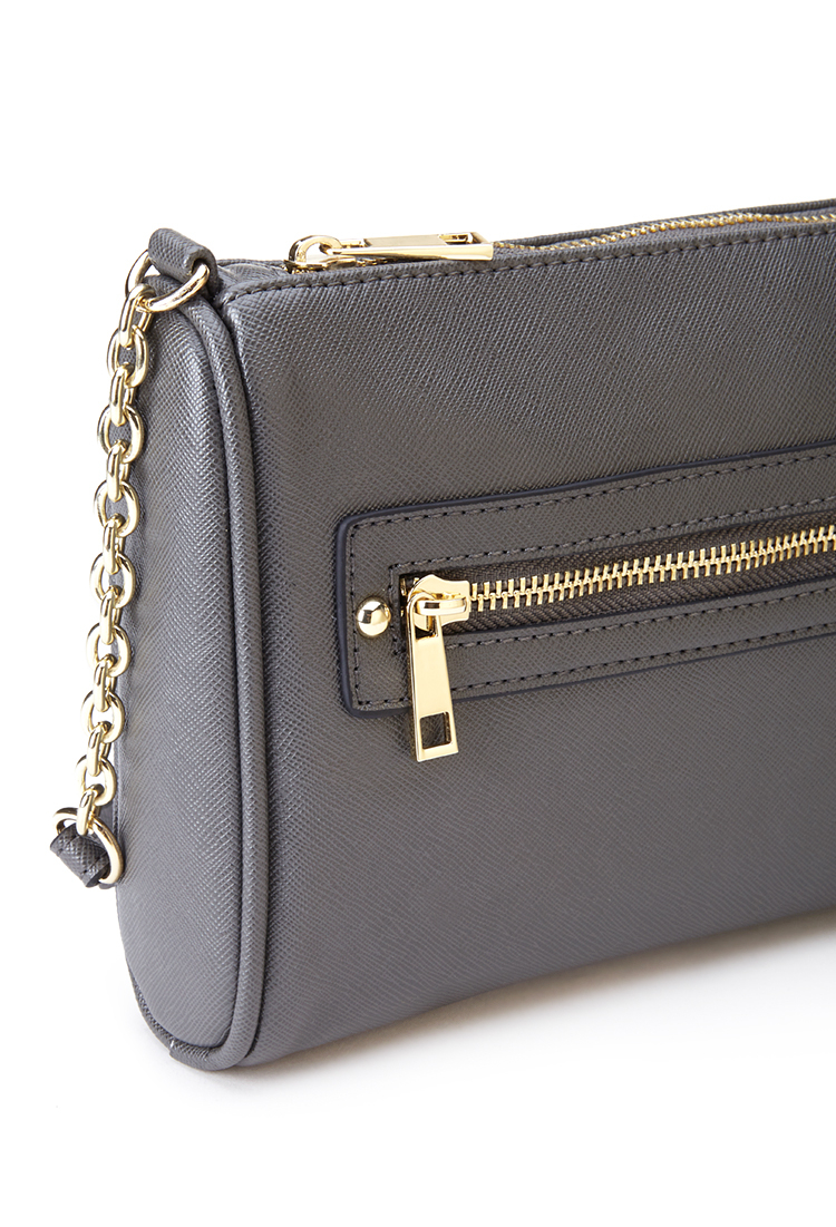 Lyst Forever 21 Textured Mini Crossbody Bag You Ve Been Added To. Faux  Leather Crossbody Bag cedd07a61801a