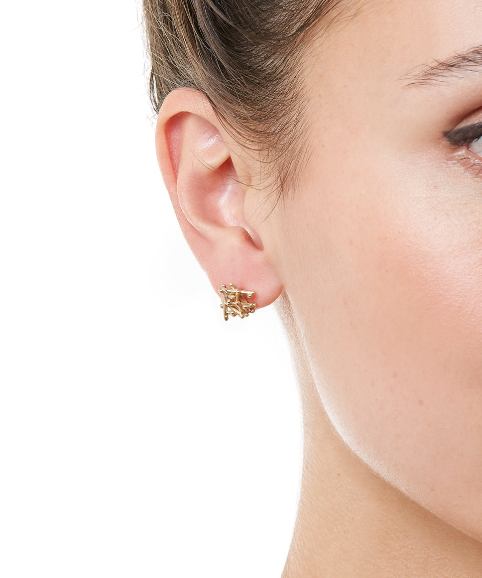 micro earrings stud earring contemporary studs gold phoebe collections images champagne coleman diamond