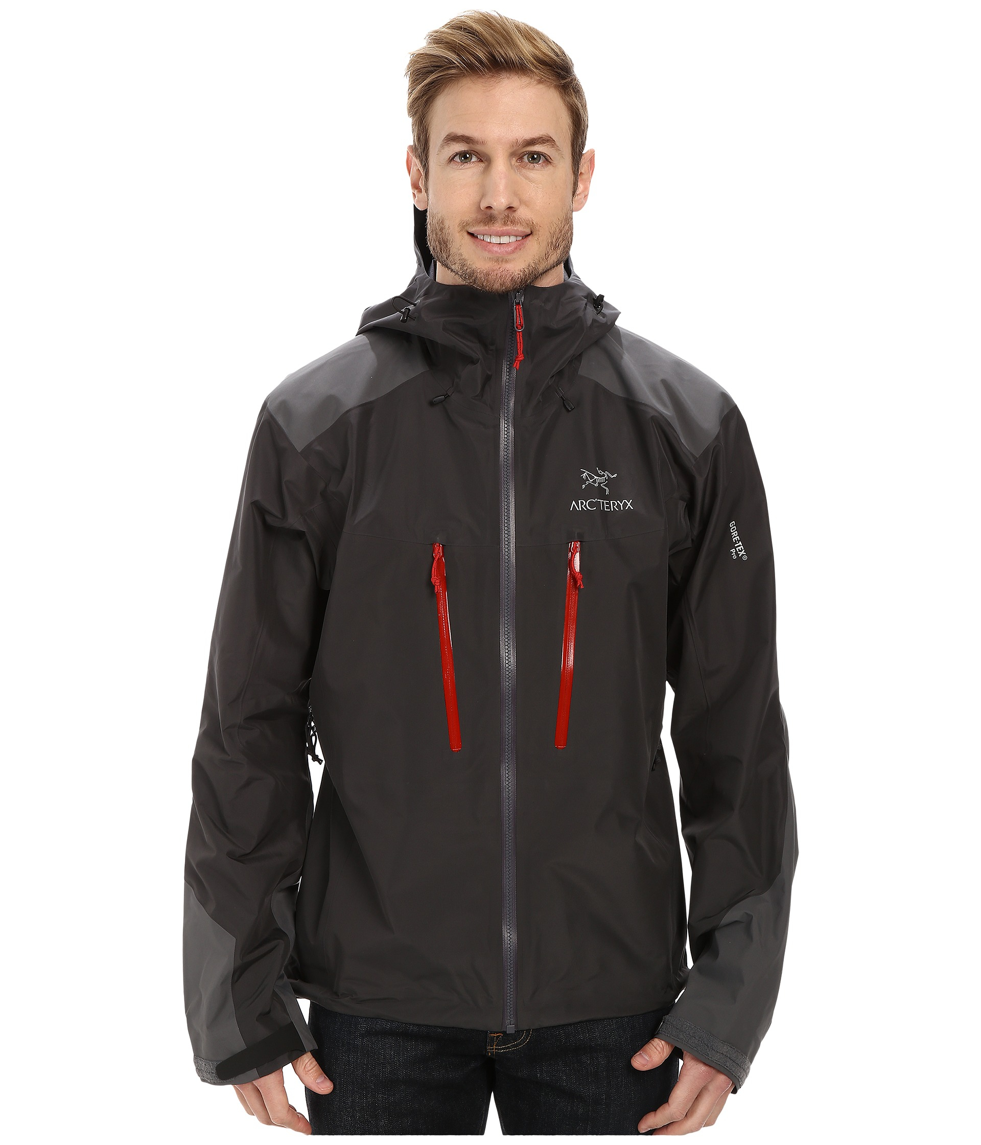 9d095384 Arc'teryx Alpha Ar Jacket in Black - Lyst
