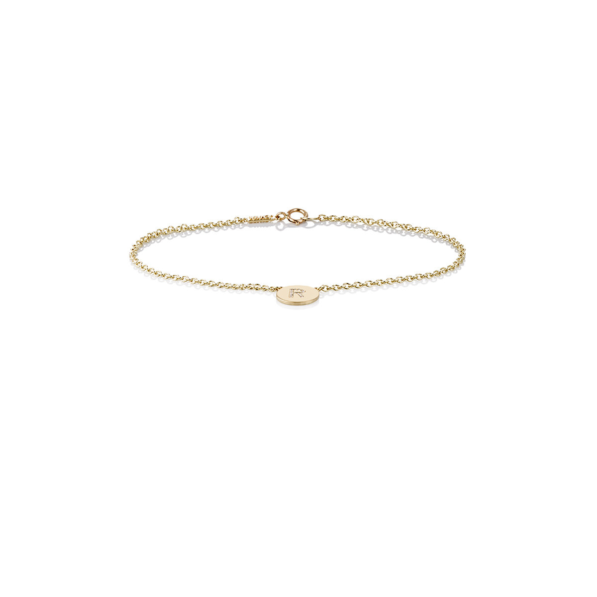 Womens Initial E Disc Bracelet Jennifer Meyer
