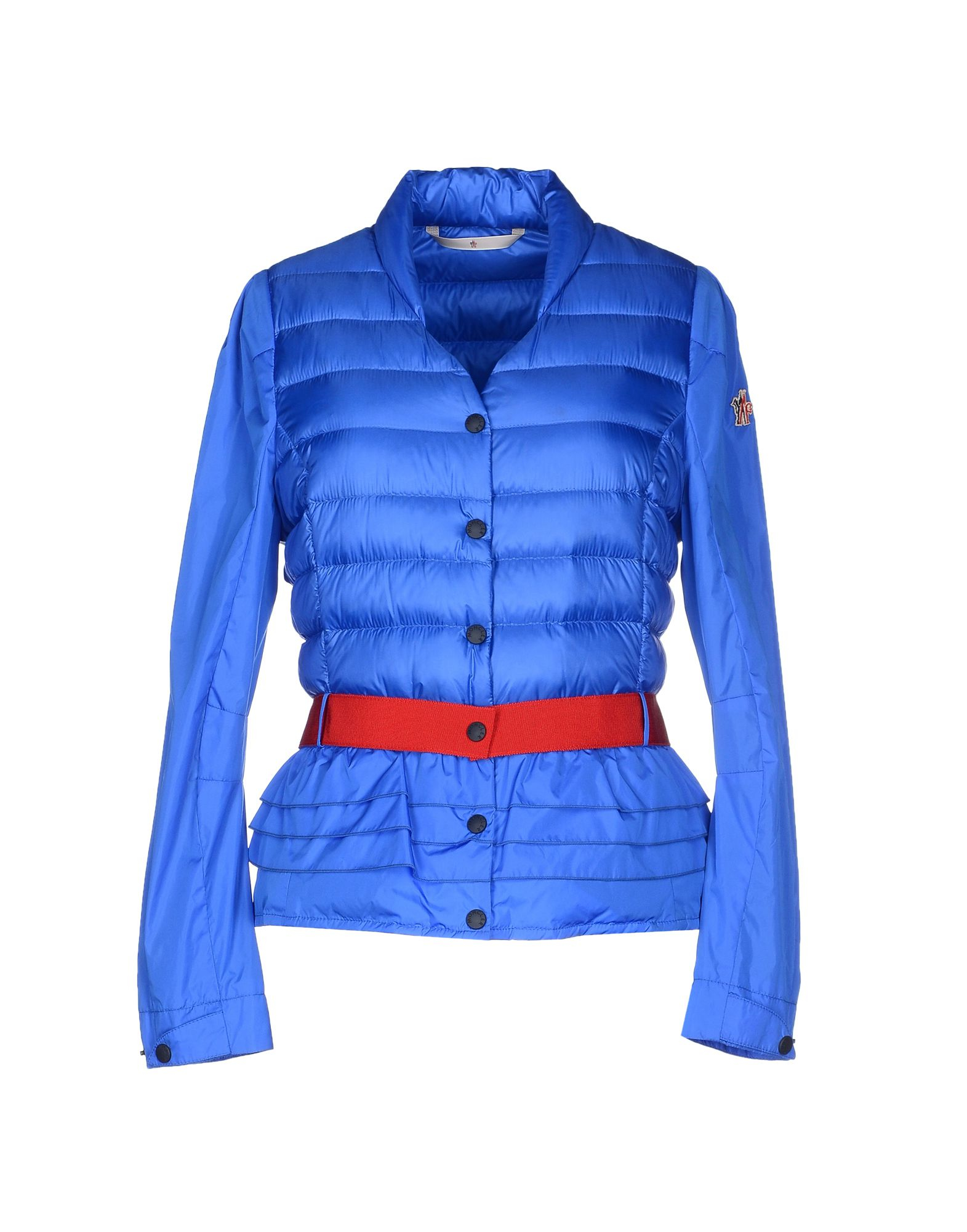 Moncler Grenoble Down Jacket In Blue Lyst