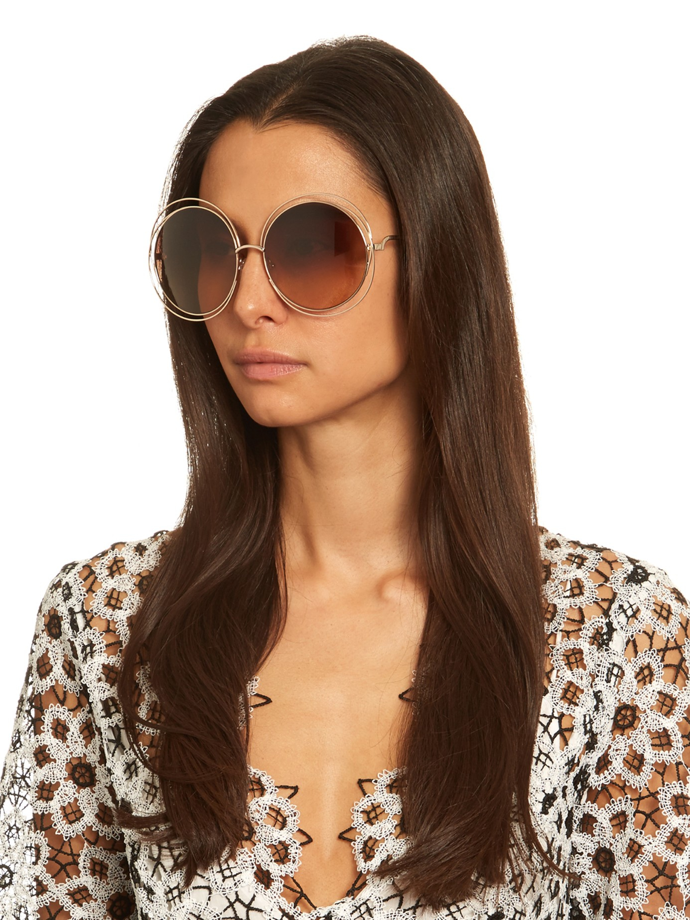 chloe sunglasses g8im  chloe sunglasses carlina