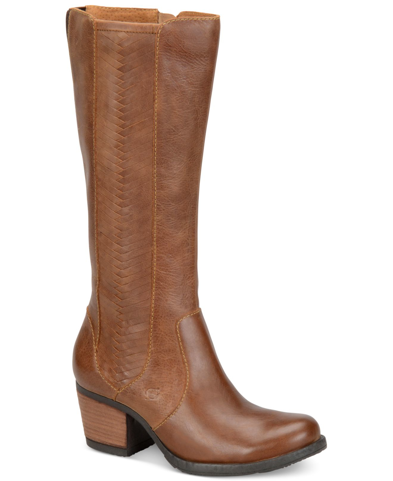 born may boots in brown lyst