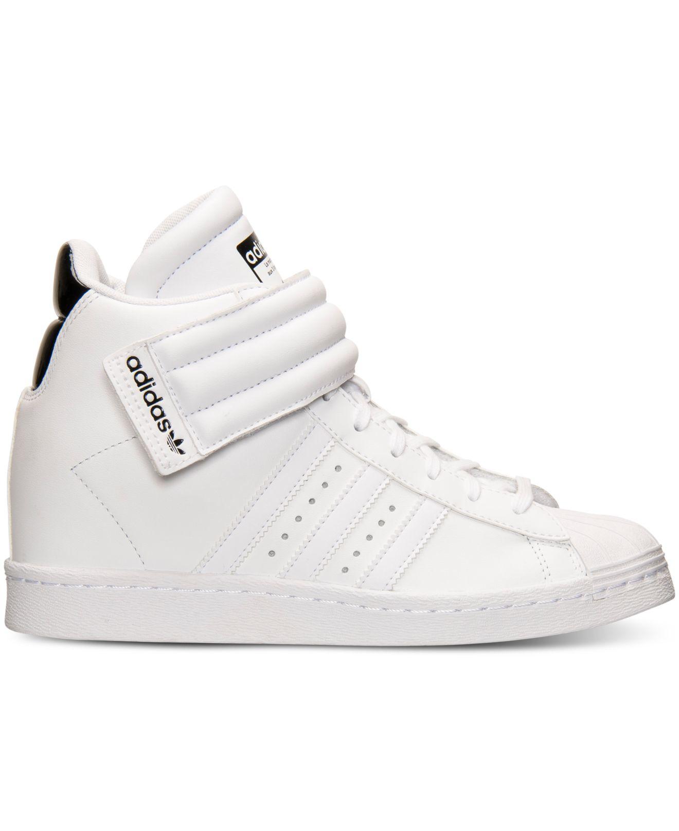 0184ef29af8f Lyst - adidas Originals Women s Superstar Up Strap Casual Sneakers ...