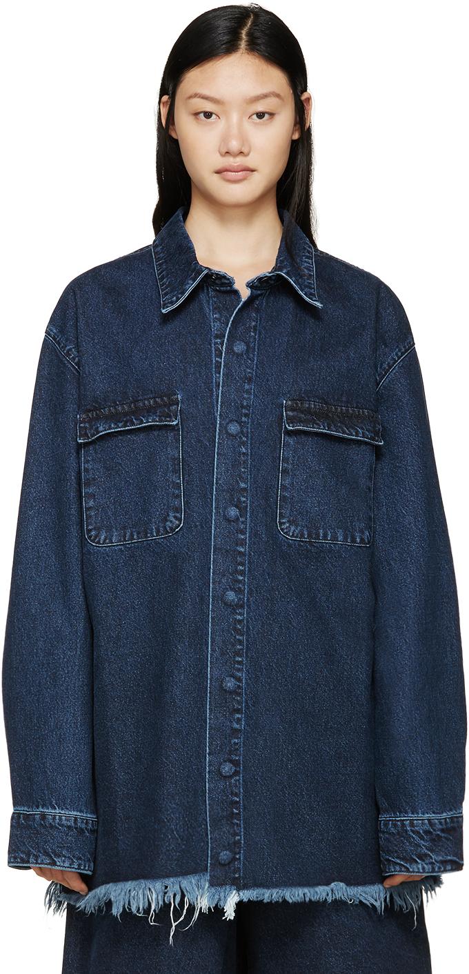 Largest Supplier Online Denim shirt Marques Almeida Real Online Vtpeb