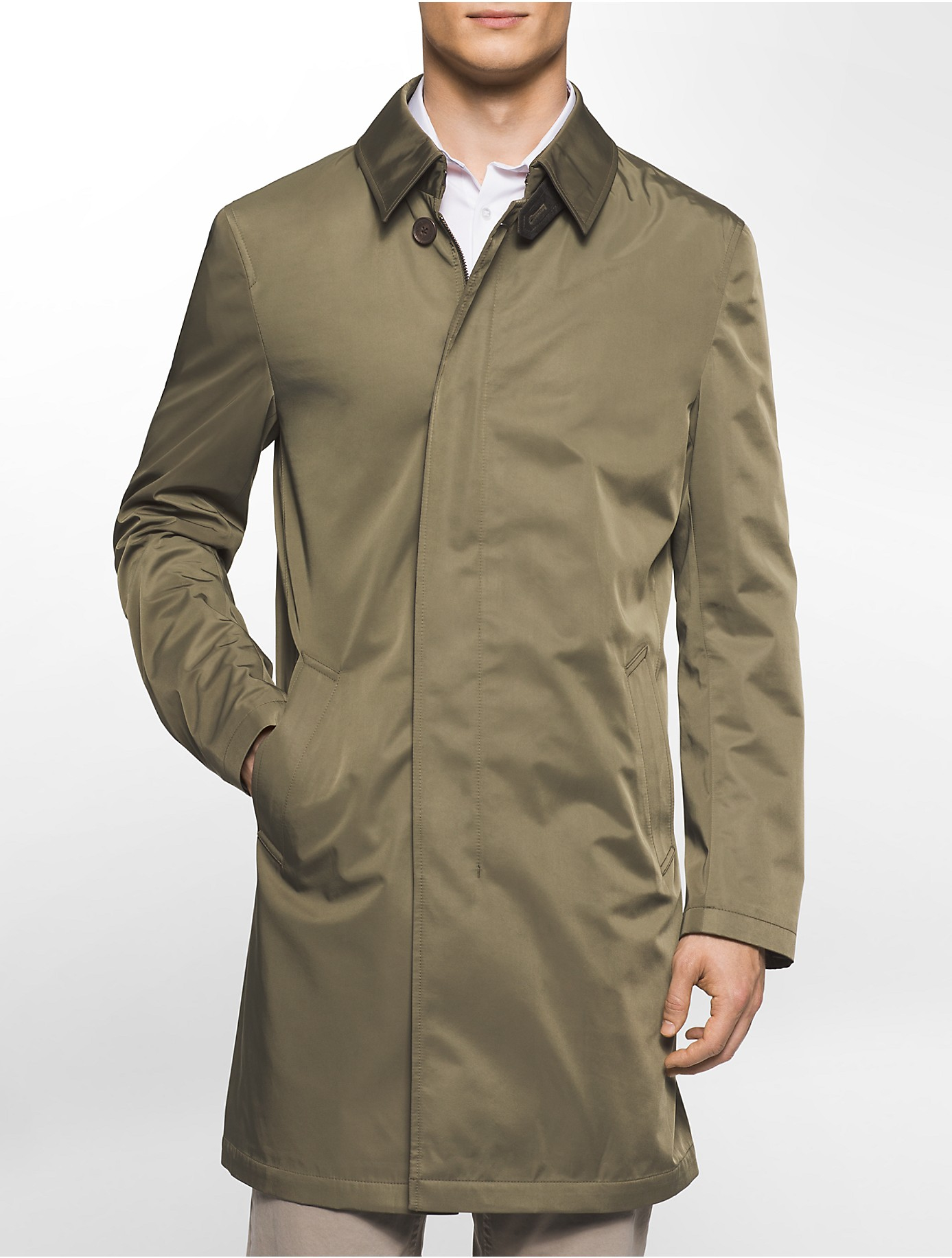 Well-liked Lyst - Calvin Klein X Fit Ultra Slim Fit Lightweight Olive  WW29