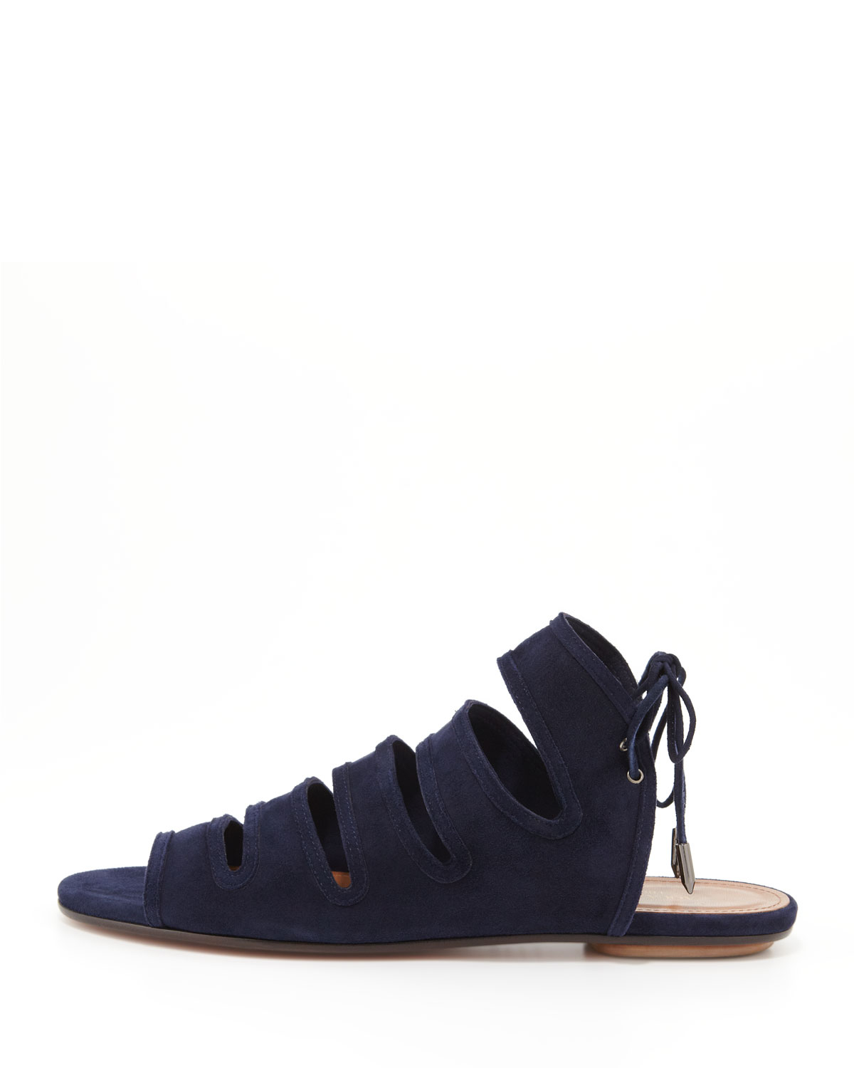 outlet latest collections 2014 newest sale online Aquazzura Sloane Suede Sandals zgvTlr