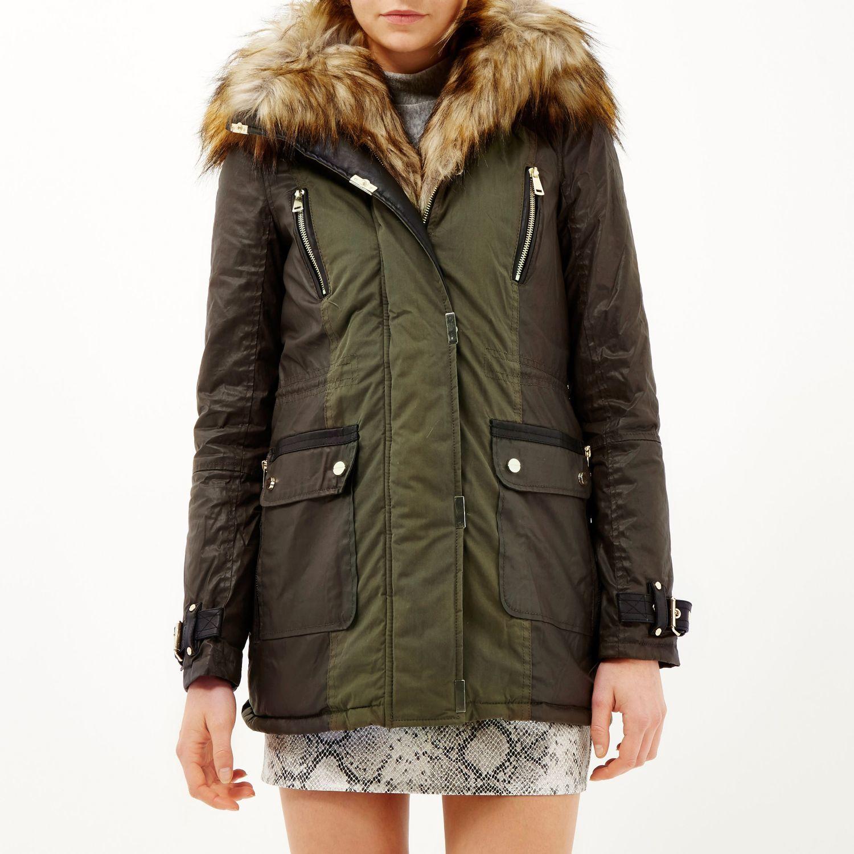 River Island Womens Fur Coats - Tradingbasis