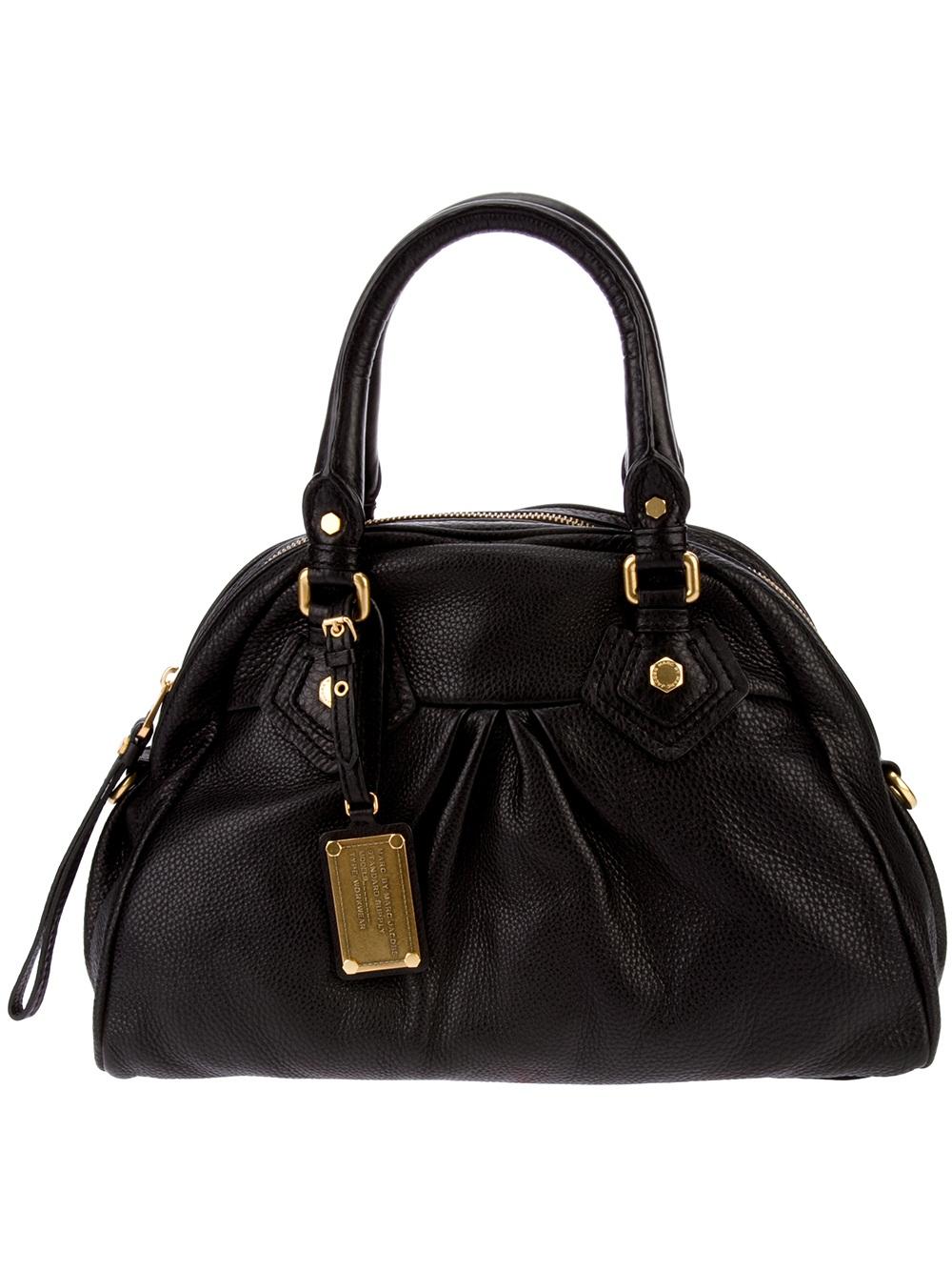 lyst marc by marc jacobs handbag in black. Black Bedroom Furniture Sets. Home Design Ideas