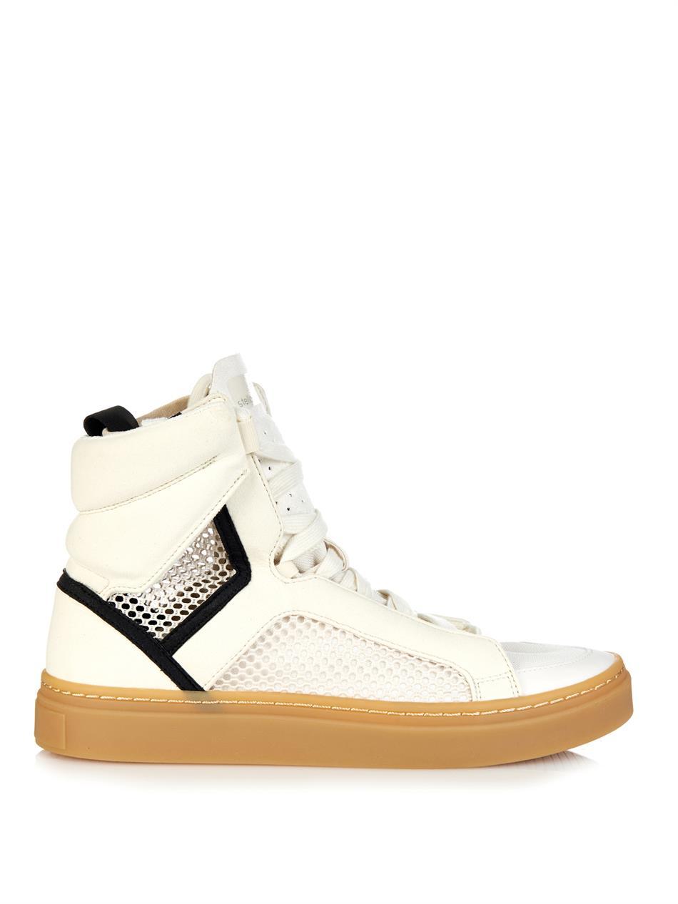 Adidas Da Formatori Stella Mccartney Asamina Pivot Formatori Da In Bianco Lyst 777791