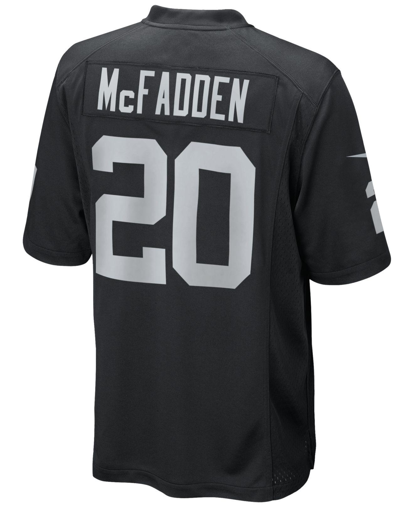 Nike Men's Darren Mcfadden Oakland Raiders Game Jersey in Black ...