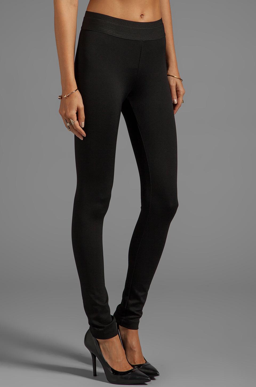 4daab7b19c083 BCBGMAXAZRIA Mason Basic Ponte Legging in Black in Black - Lyst