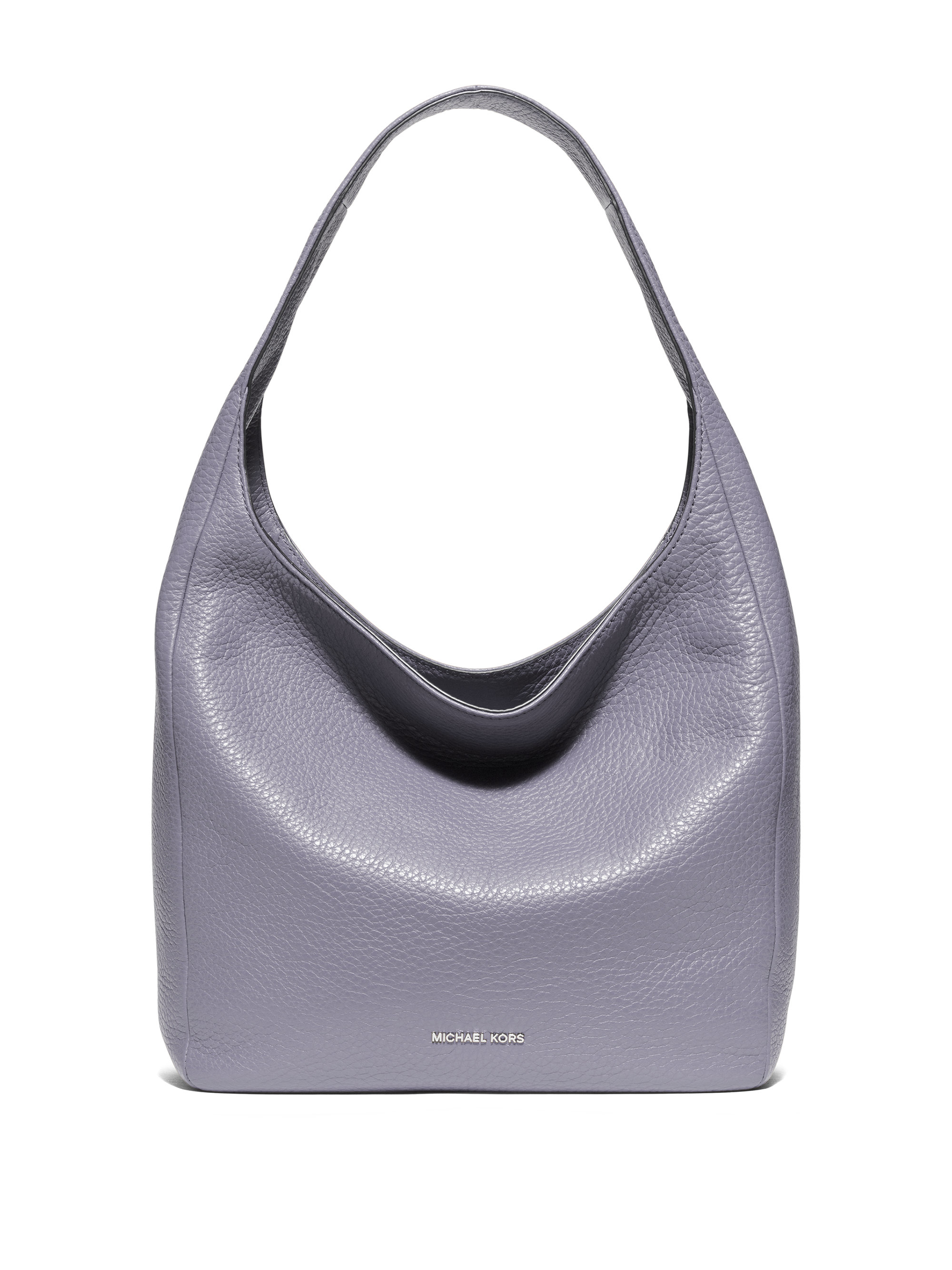 a3fd17d89eab MICHAEL Michael Kors Lena Large Leather Hobo Bag in Metallic - Lyst