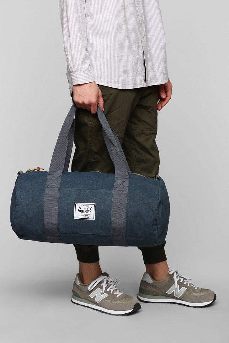 3d787b621d52d Lyst - Herschel Supply Co. Sutton Cotton Canvas Medium Duffle Bag in ...