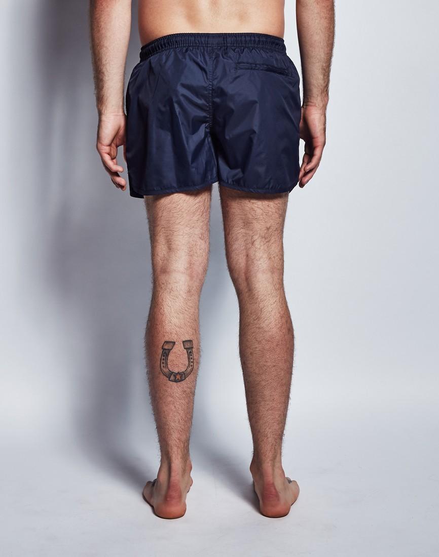 3e1d3a2ea1 Brave Soul Brave Soul Runner Swim Shorts in Blue for Men - Lyst