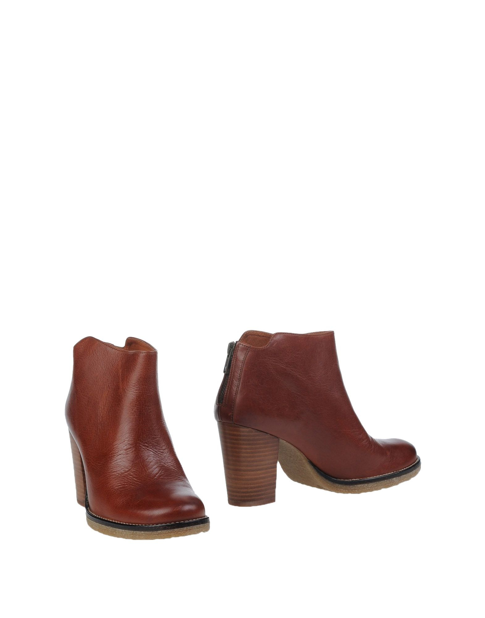 sessun ankle boots in brown lyst