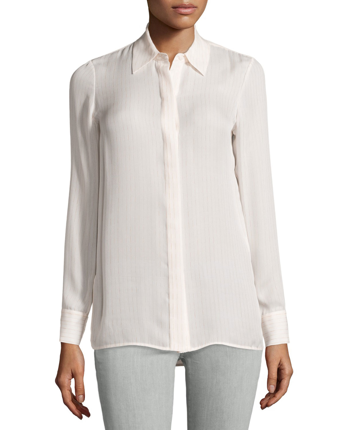White Blouses. Showing 40 of 45 results that match your query. Search Product Result. Women Lace Decorated Long Sleeves Shirt and Blouse White. Product - Women Lace Designed Upper Wearing Shirt and Blouse White. Product Image. Price $ Product Title.