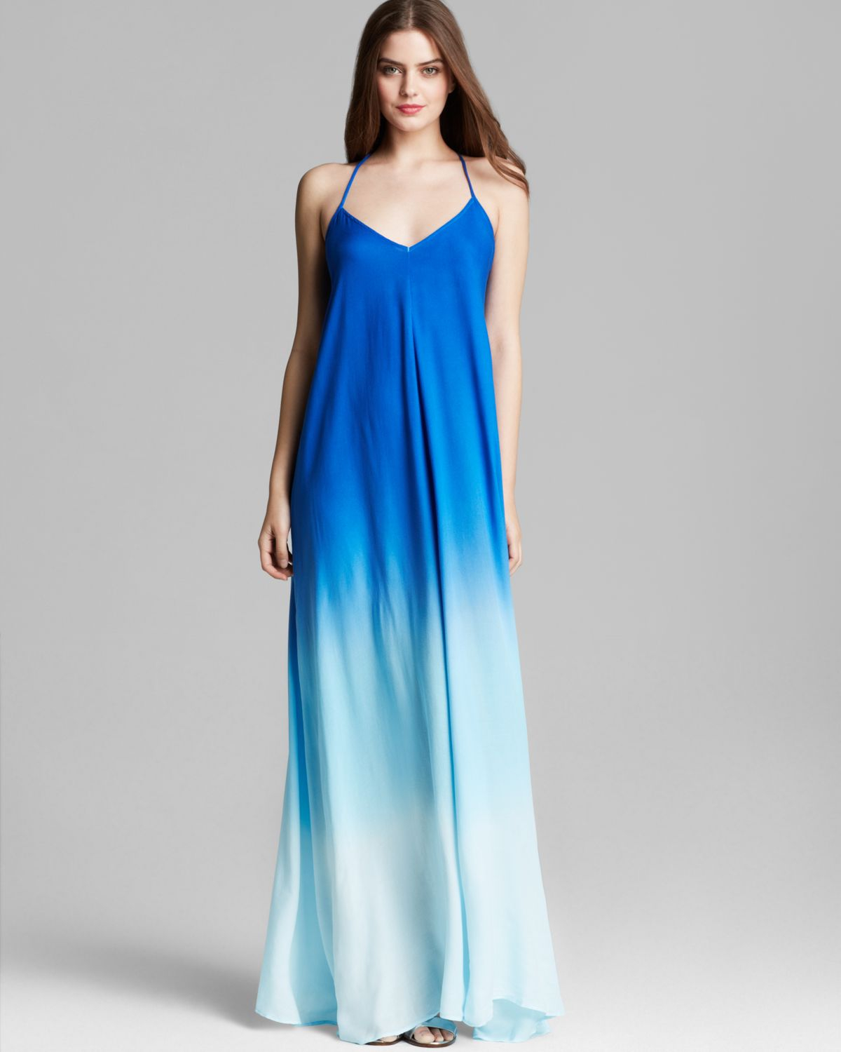 Young fabulous & broke Maxi Dress Fortune Ombre in Blue | Lyst