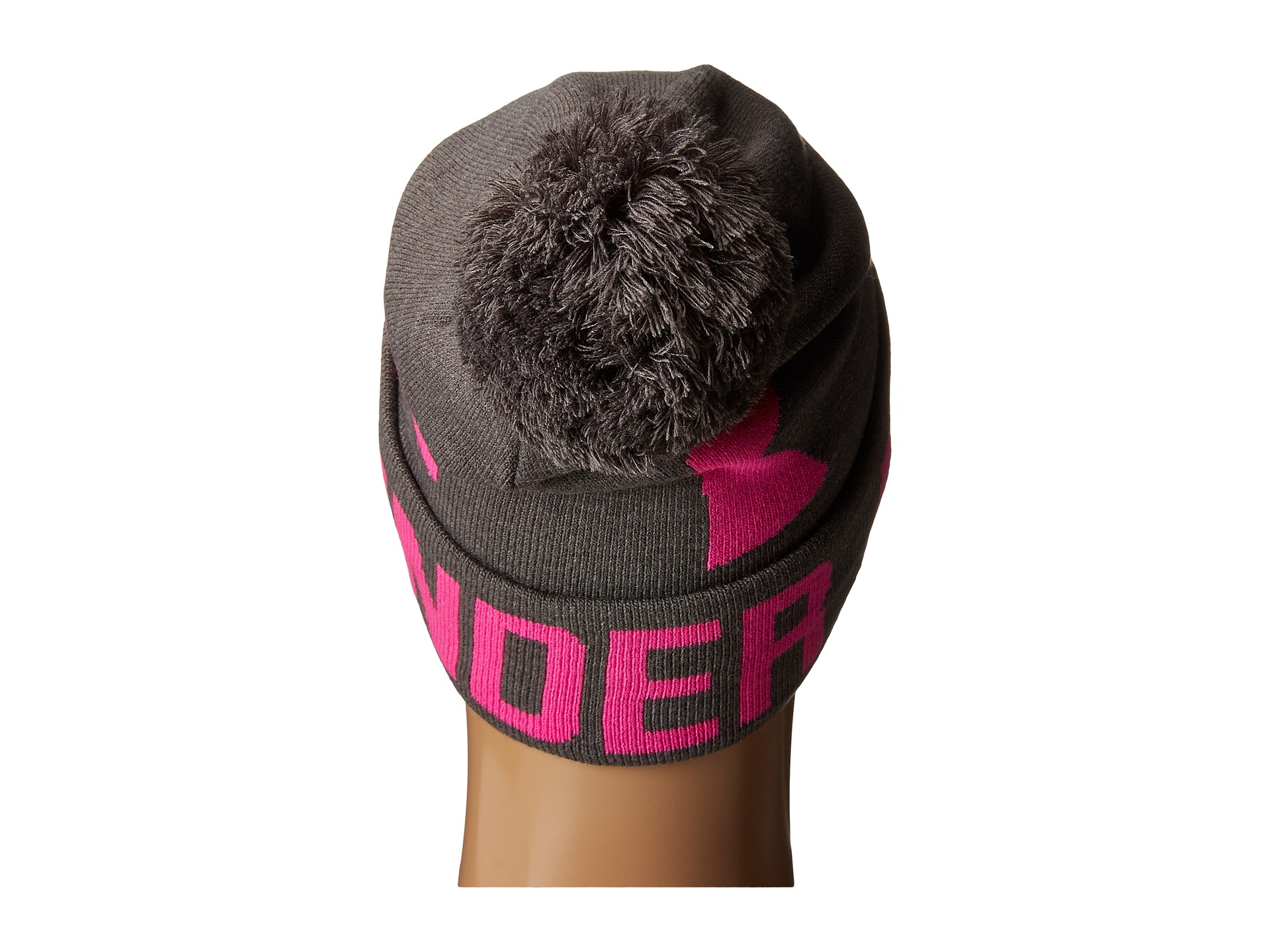... outlet store sale deeb5 e50a2 Lyst - Under Armour Ua Graphic Pom Pom  Beanie in Black ... 123144a42b3f