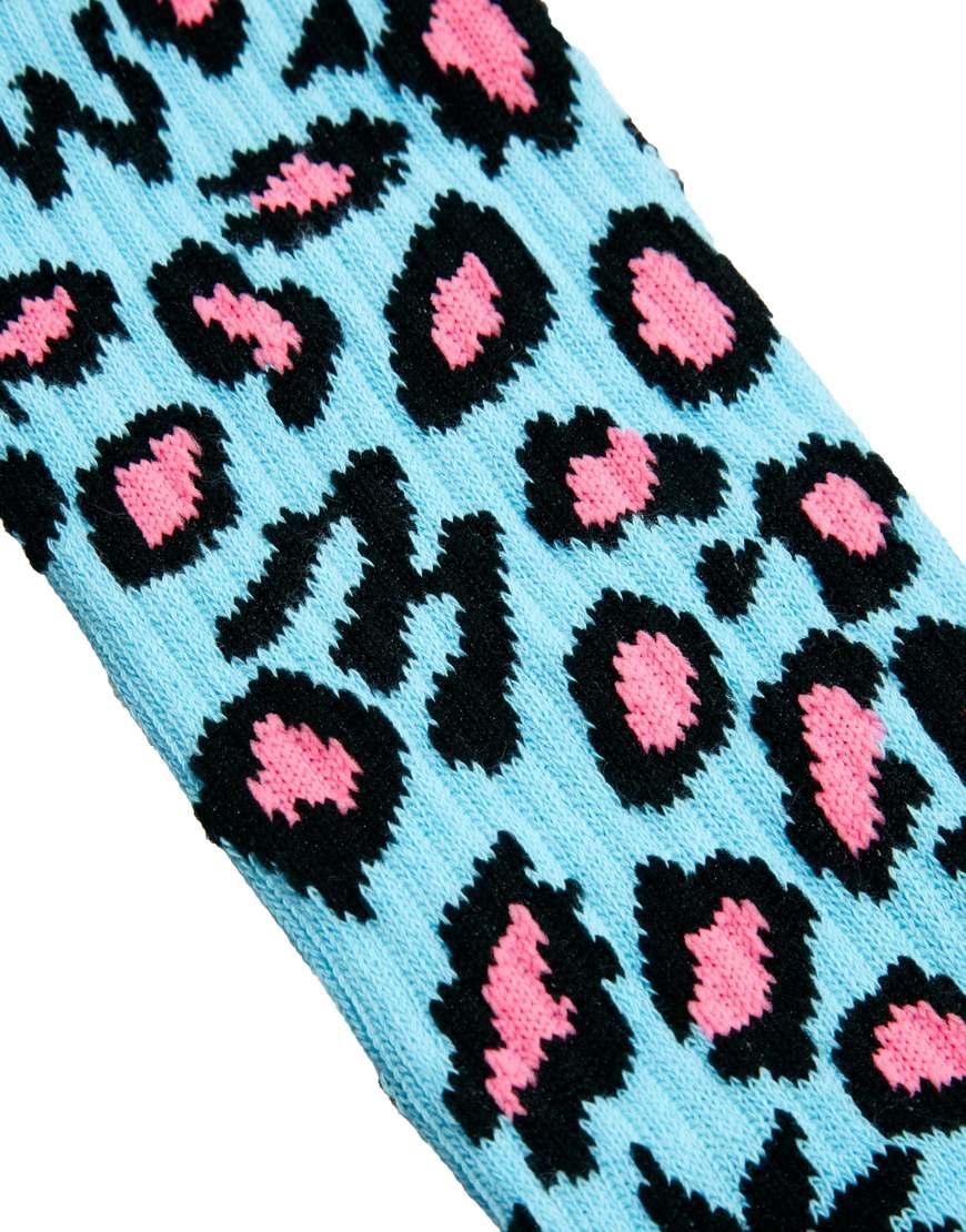da4aff982bb8 Lyst - Odd Future Socks Domo Cheetah in Blue for Men