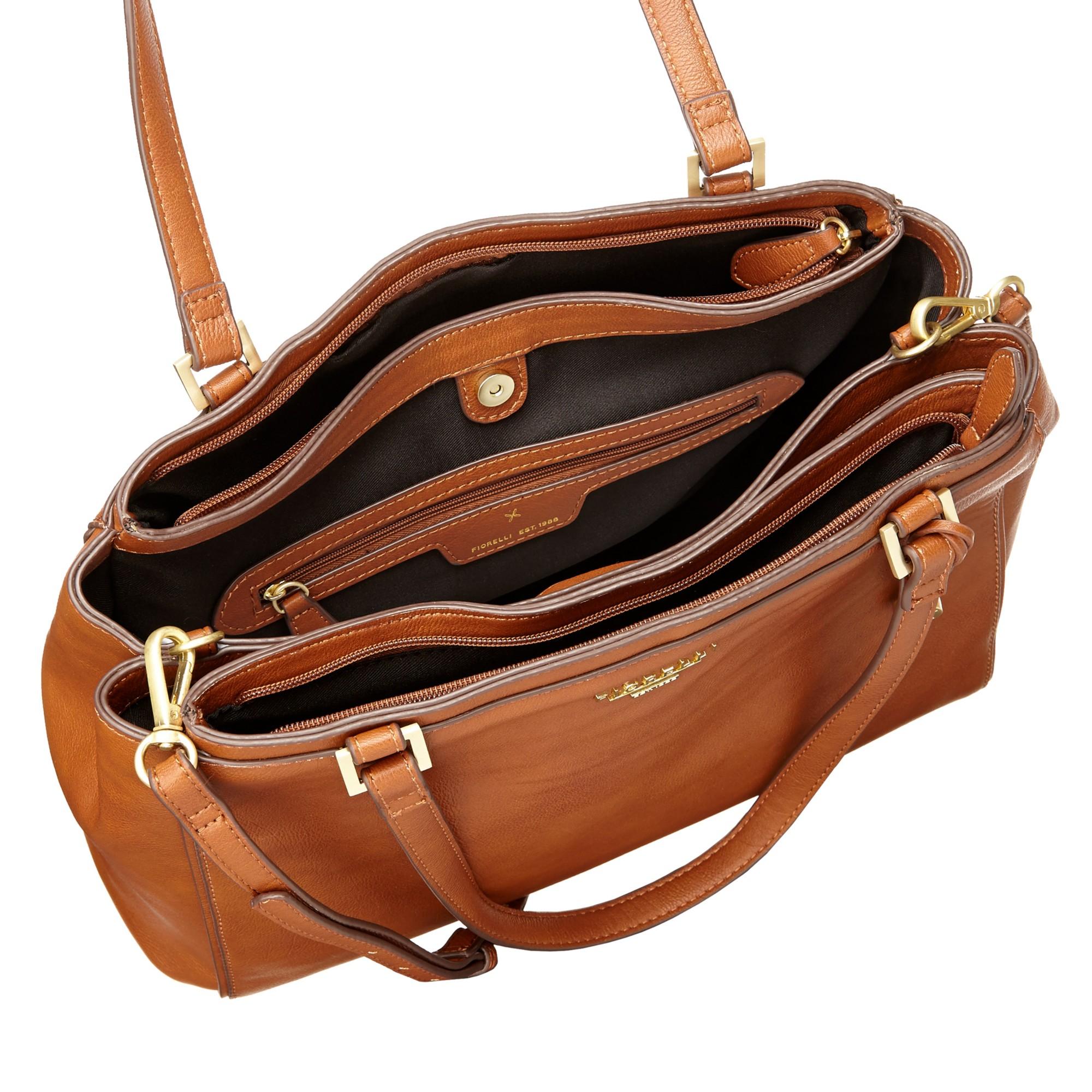 c709eb8357 Fiorelli Sophia Large Shoulder Bag in Brown - Lyst