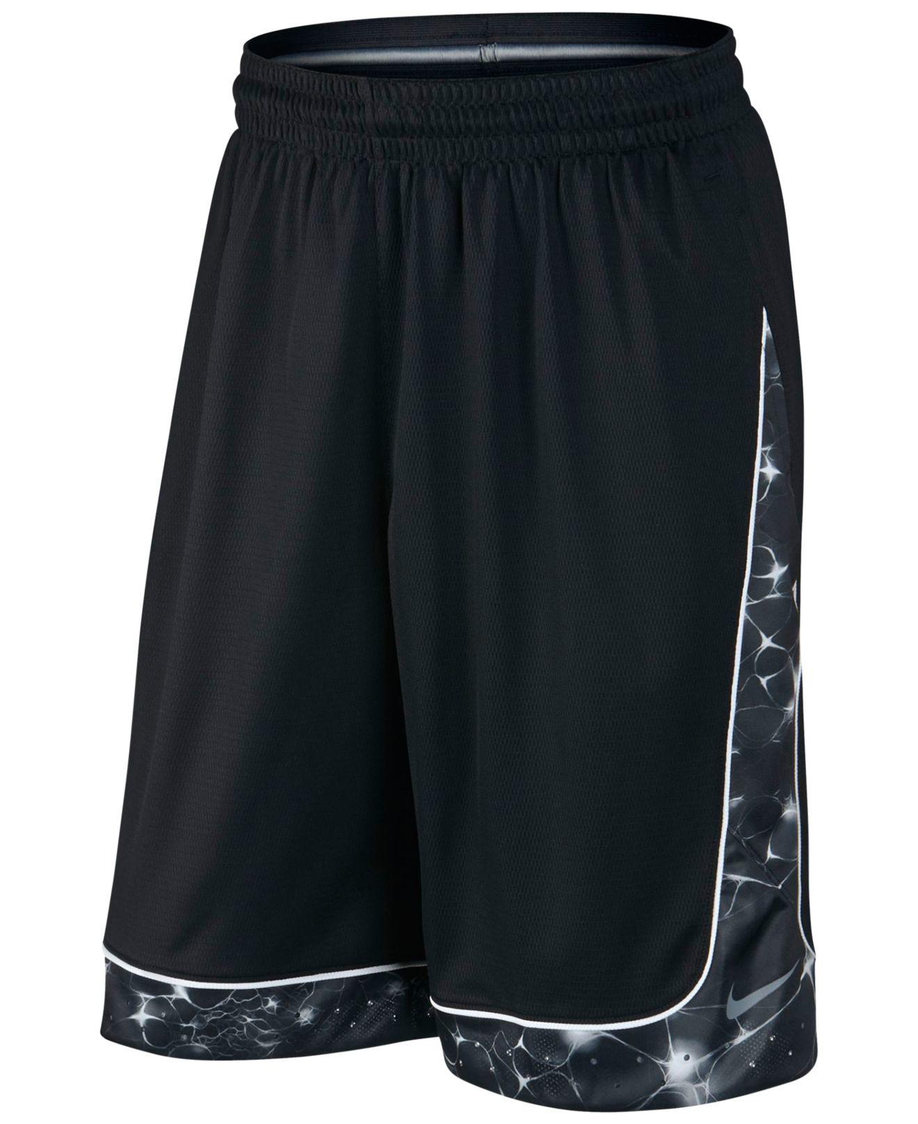 Nike Lebron Helix Elite Dri-fit Basketball Shorts in Black ...