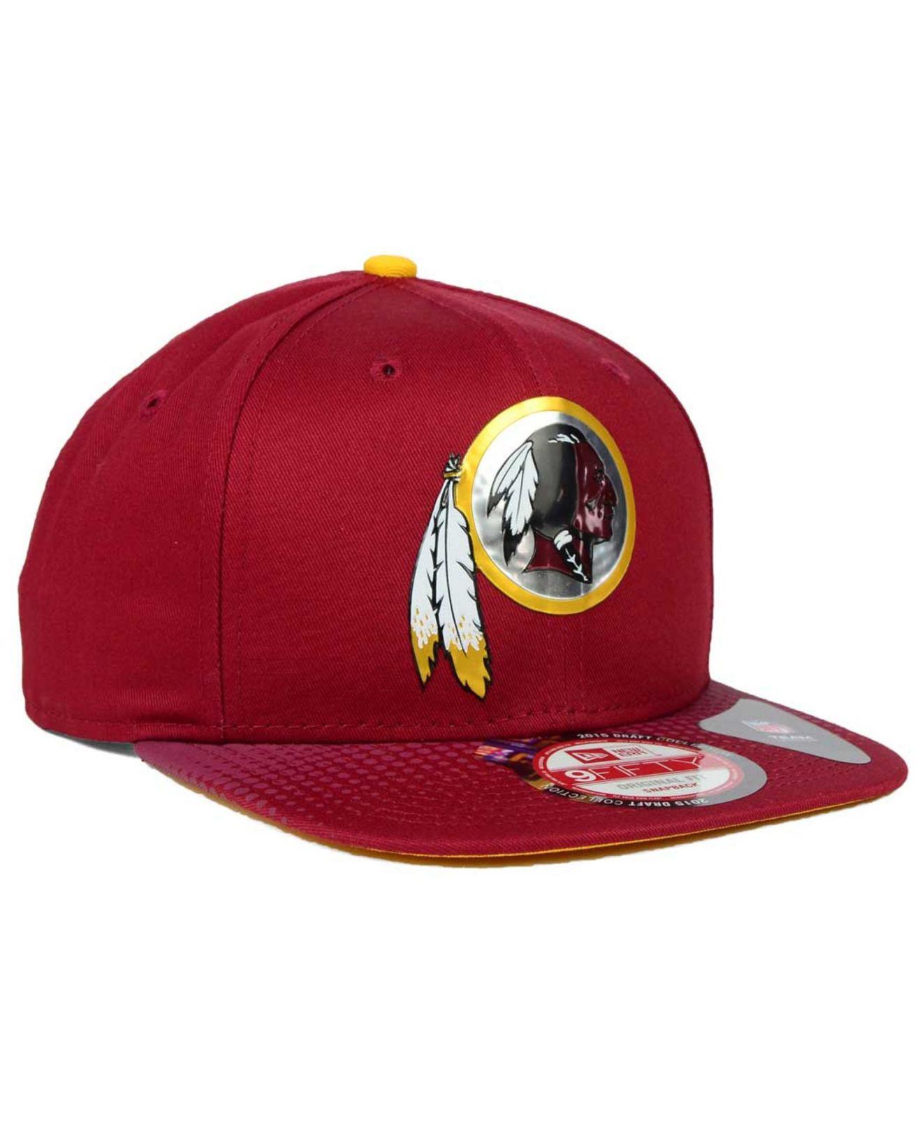 lowest price 3aa34 e5c50 good washington redskins new era 2018 nfl draft pick 9fifty snapback hat  mick simmons sport 4cce7 aab22  hot lyst ktz washington redskins 2015 nfl  draft ...