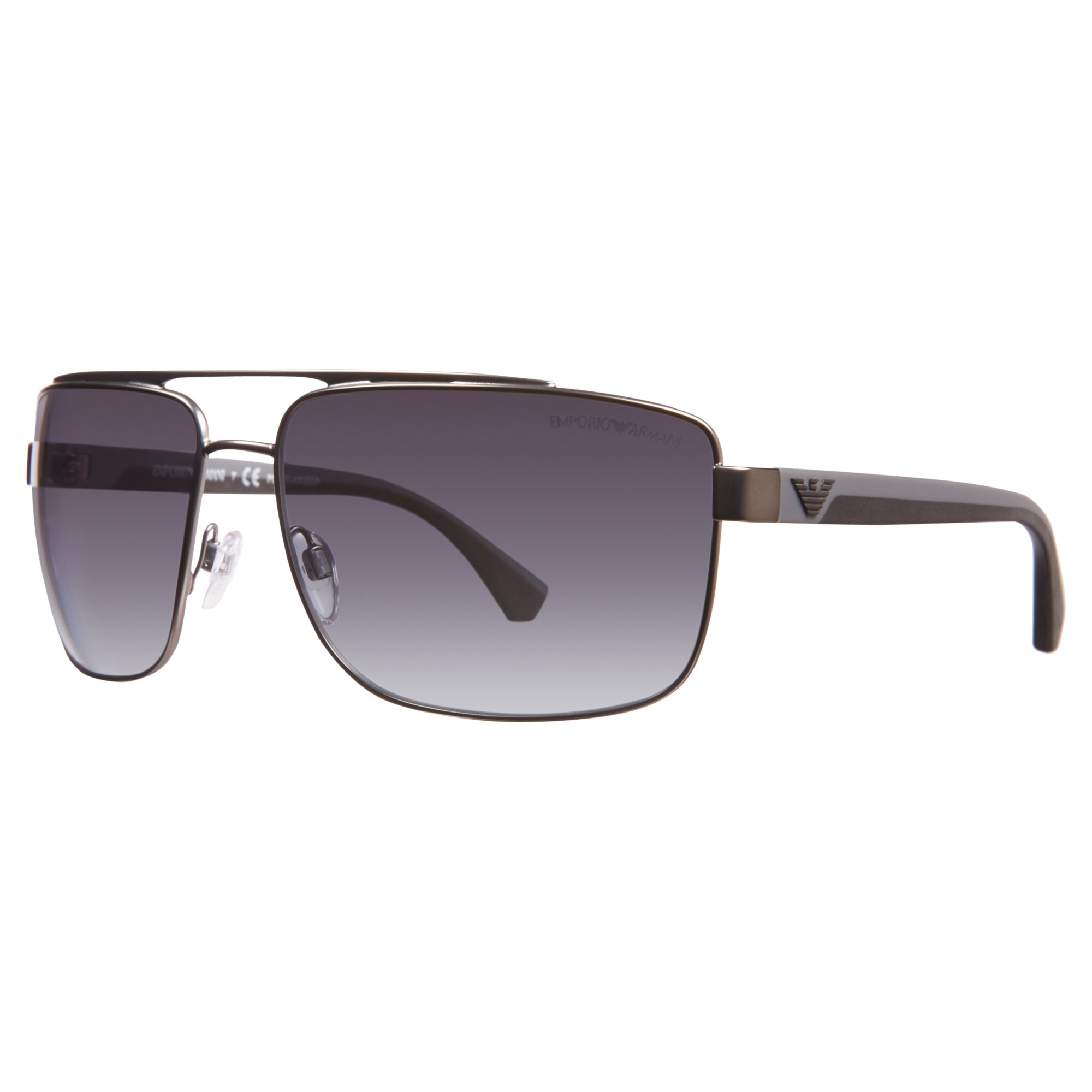 251f84d18dd Emporio Armani Ea2018 Rectangular Sunglasses in Metallic - Lyst