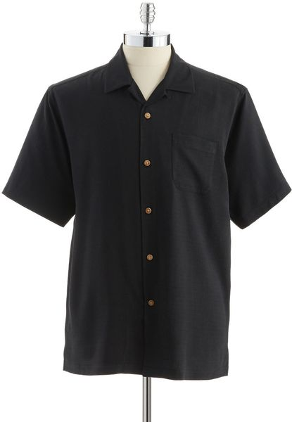 Tommy bahama silk buttondown shirt with back graphic in for Tommy bahama christmas shirt 2014