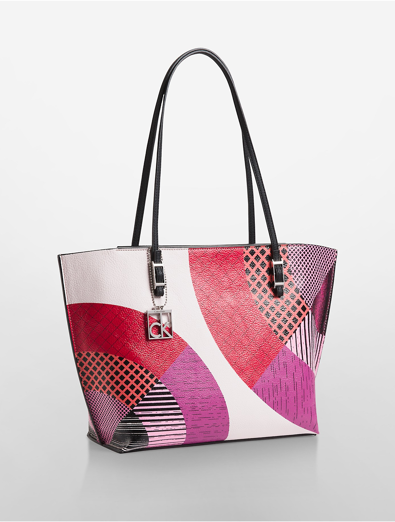 Label Be Color Block Shopper Bag PAUKOL