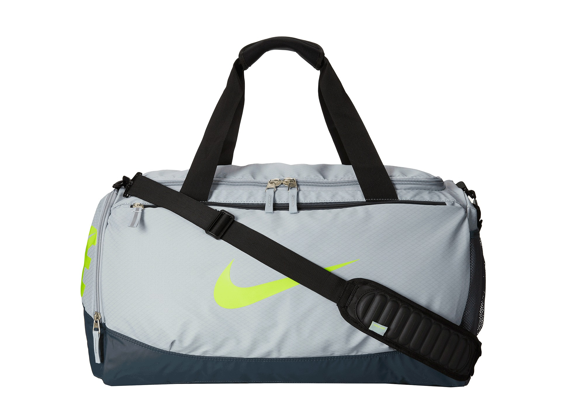 cdb9404d61 Nike Team Training Max Air Medium Duffel Bag Black