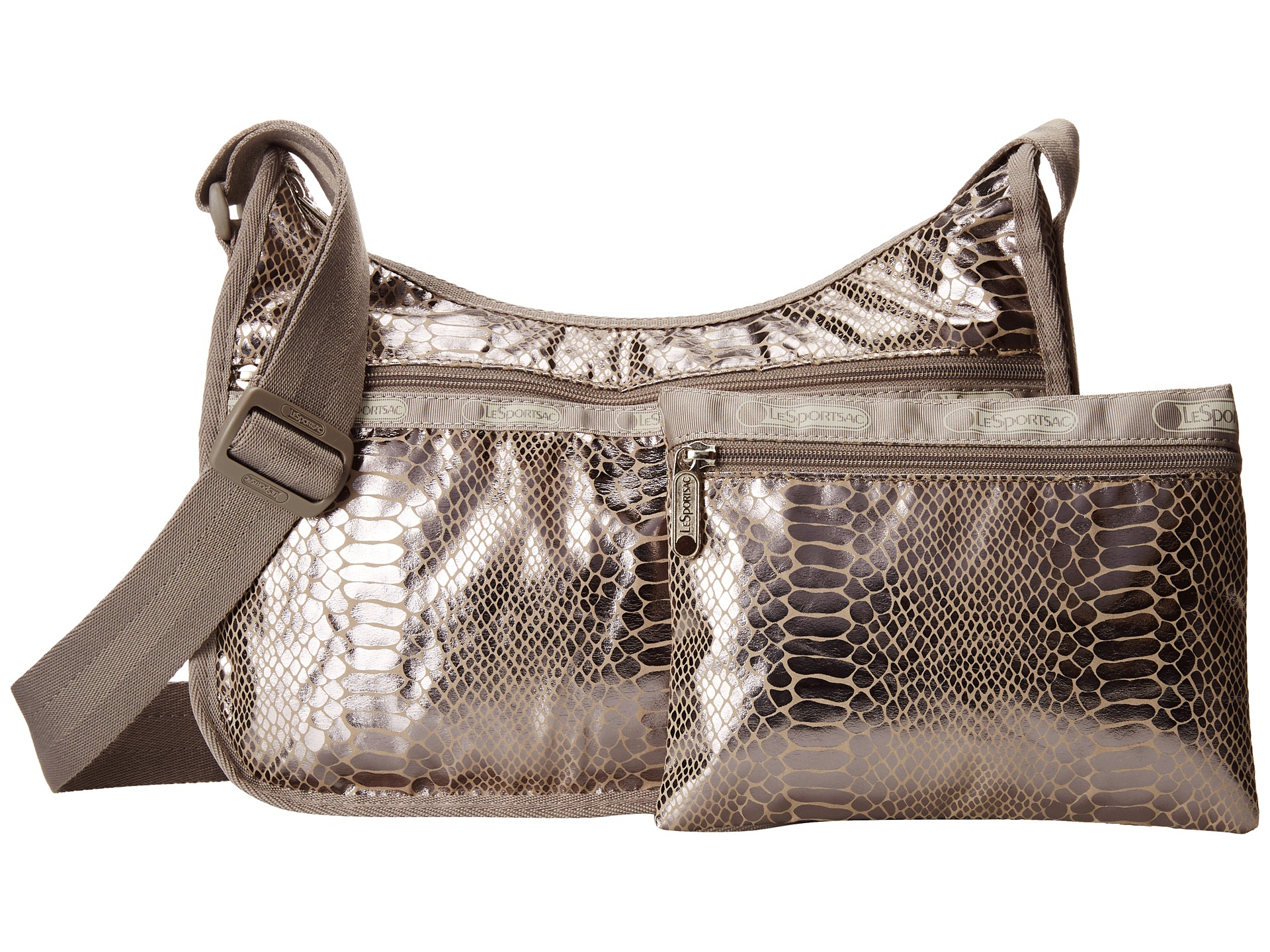 Lesportsac Classic Hobo Bag in Metallic | Lyst