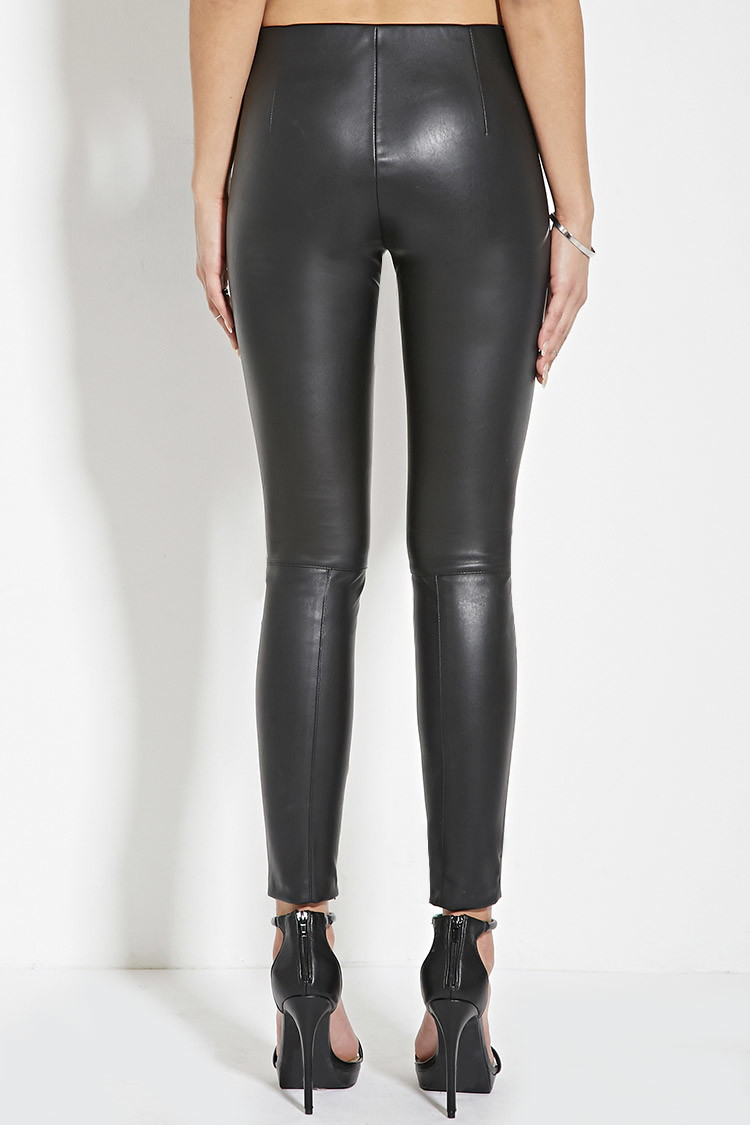 Faux Leather pants Leggings PU Sexy Elastic Pant Women's Butt Lift Super Slim Wet Look Thin. by RIER. $ $ 23 98 Prime. FREE Shipping on eligible orders. Some sizes are Prime eligible. out of 5 stars Product Features Faux Leather Leggings. Idopy Men`s Black Slim Fit Soft PU Faux Leather Biker Pants.