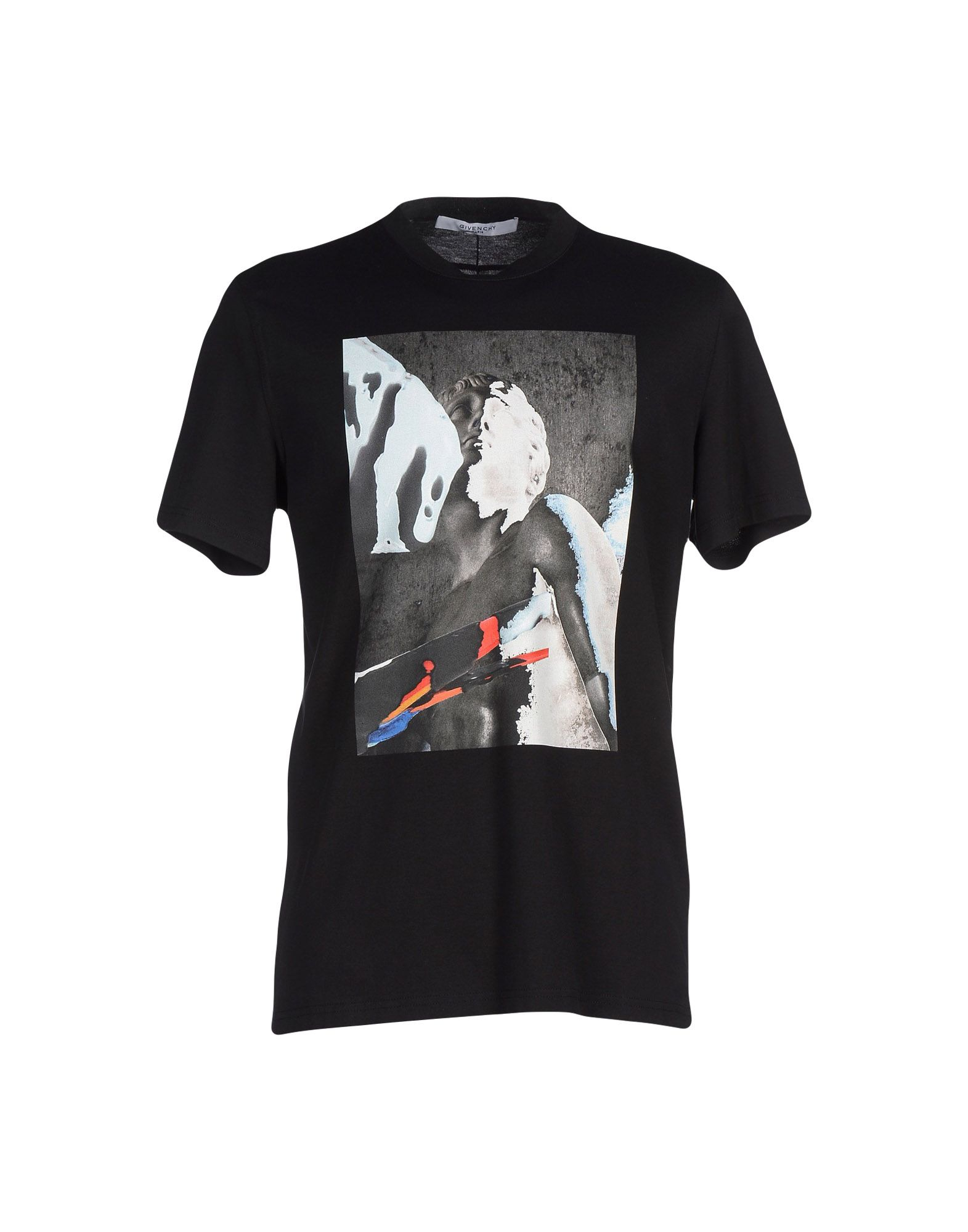 Givenchy T Shirt In Black For Men Lyst