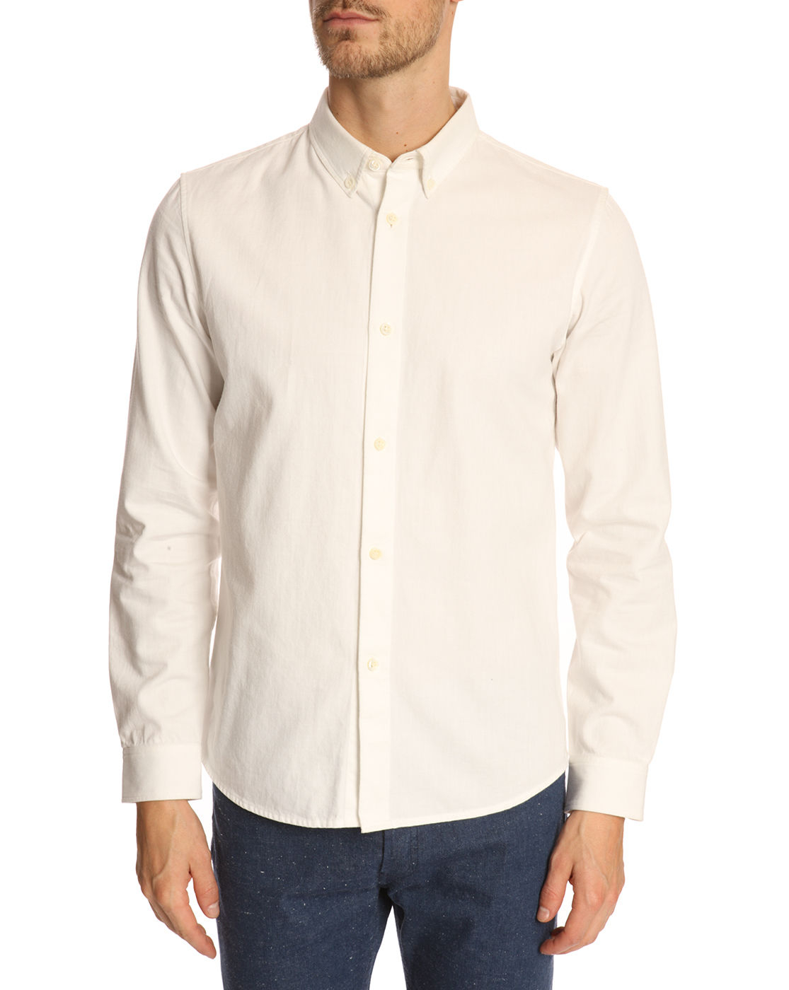 Off White Button Down Shirt | Is Shirt