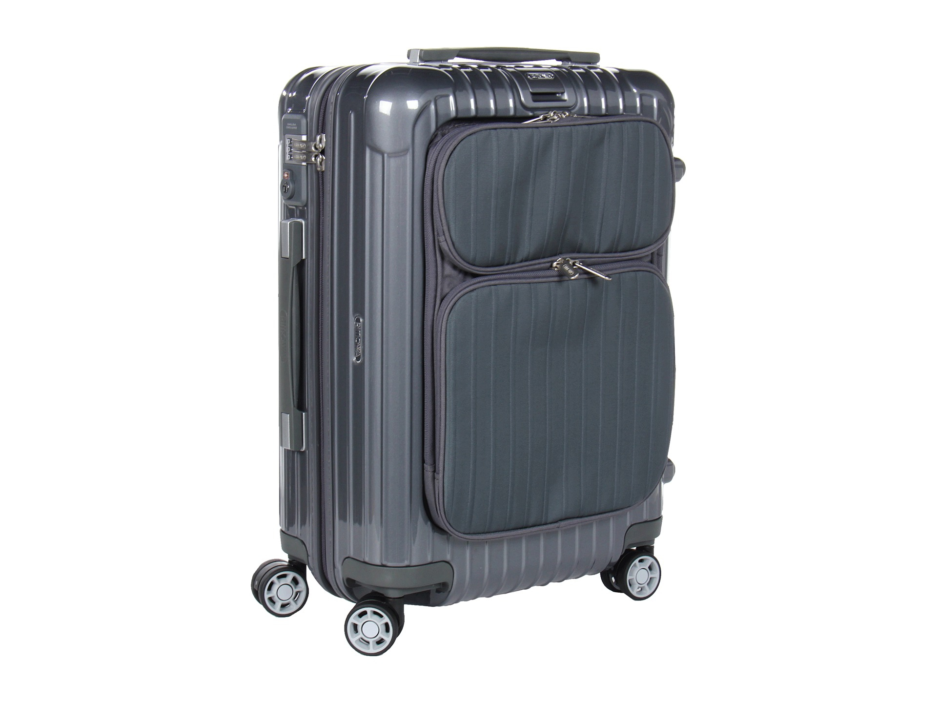 rimowa salsa deluxe hybrid 21 cabin multiwheel iata in gray lyst. Black Bedroom Furniture Sets. Home Design Ideas