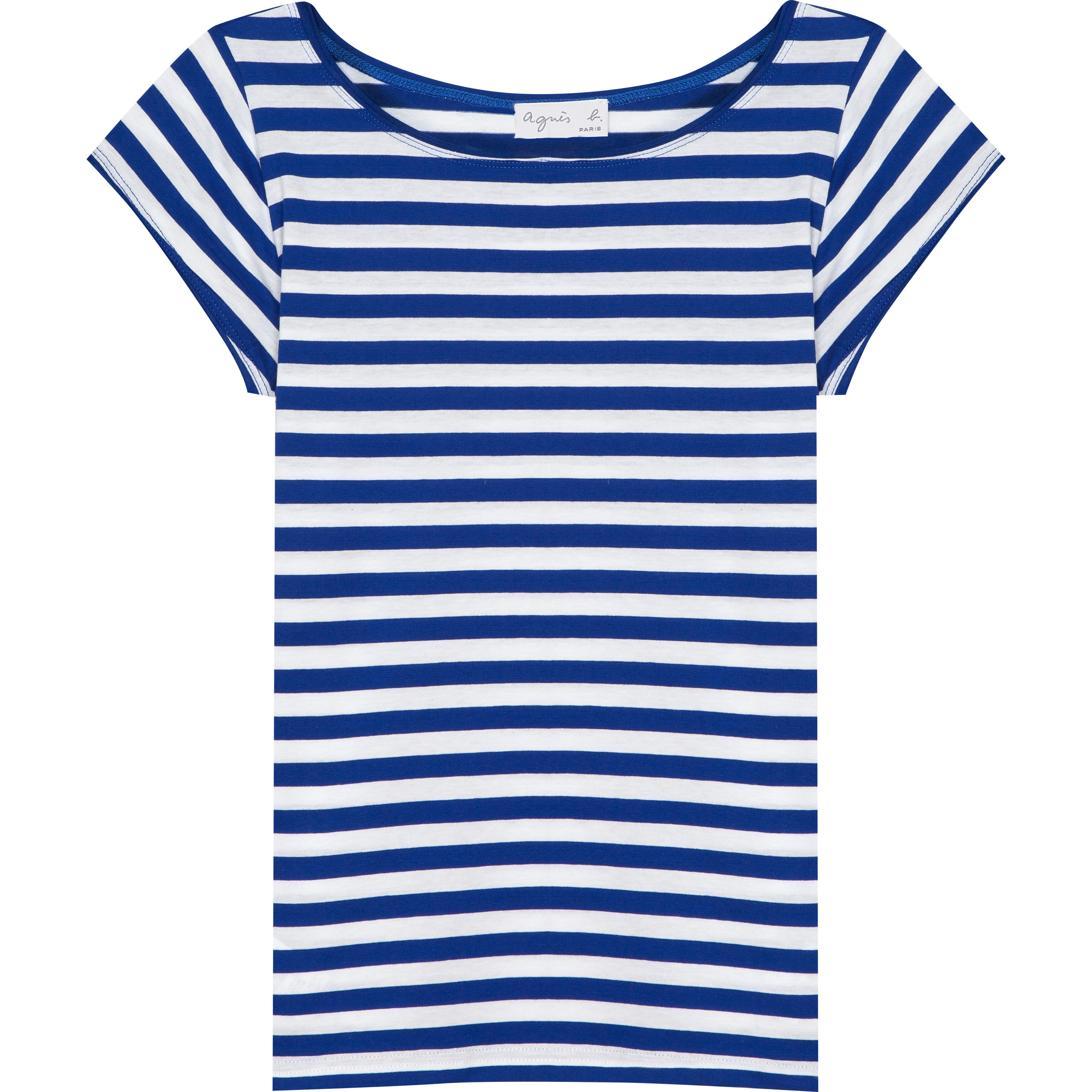 Australie Shirt T Bluewhite Agnès In B Lyst Blue aqwvXnnBWx