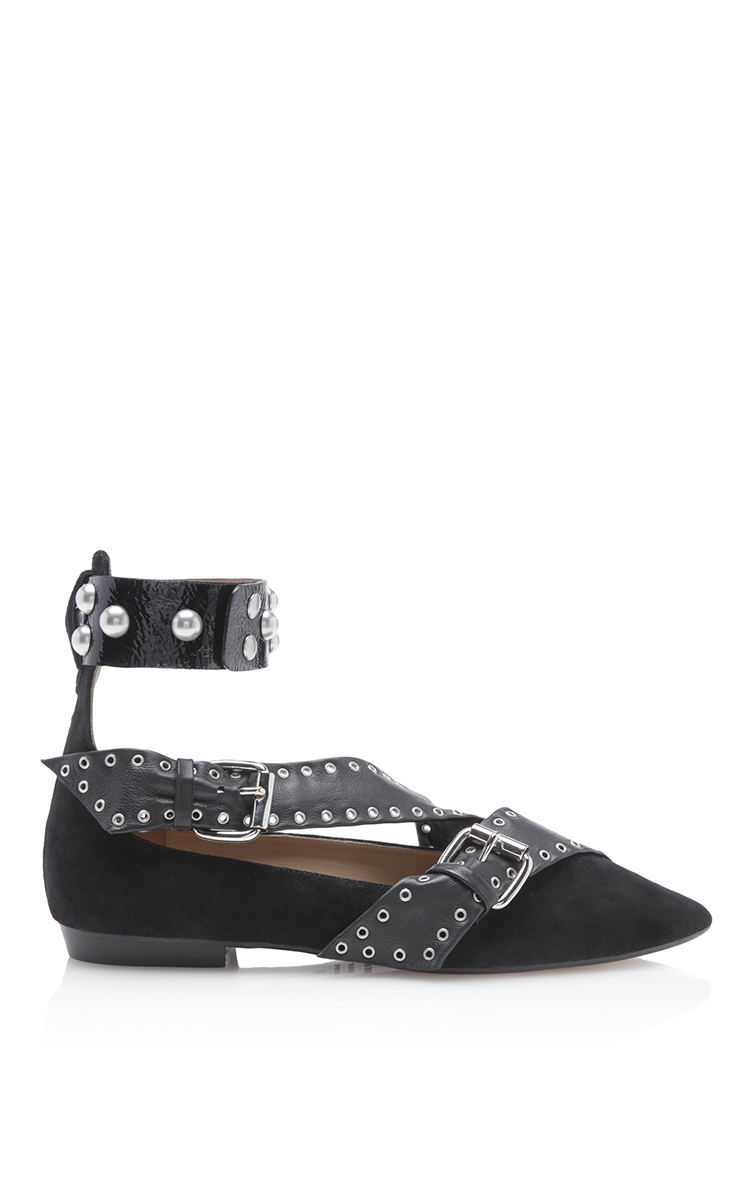 Isabel Marant Patent Leather Flats IwwlByPKWu