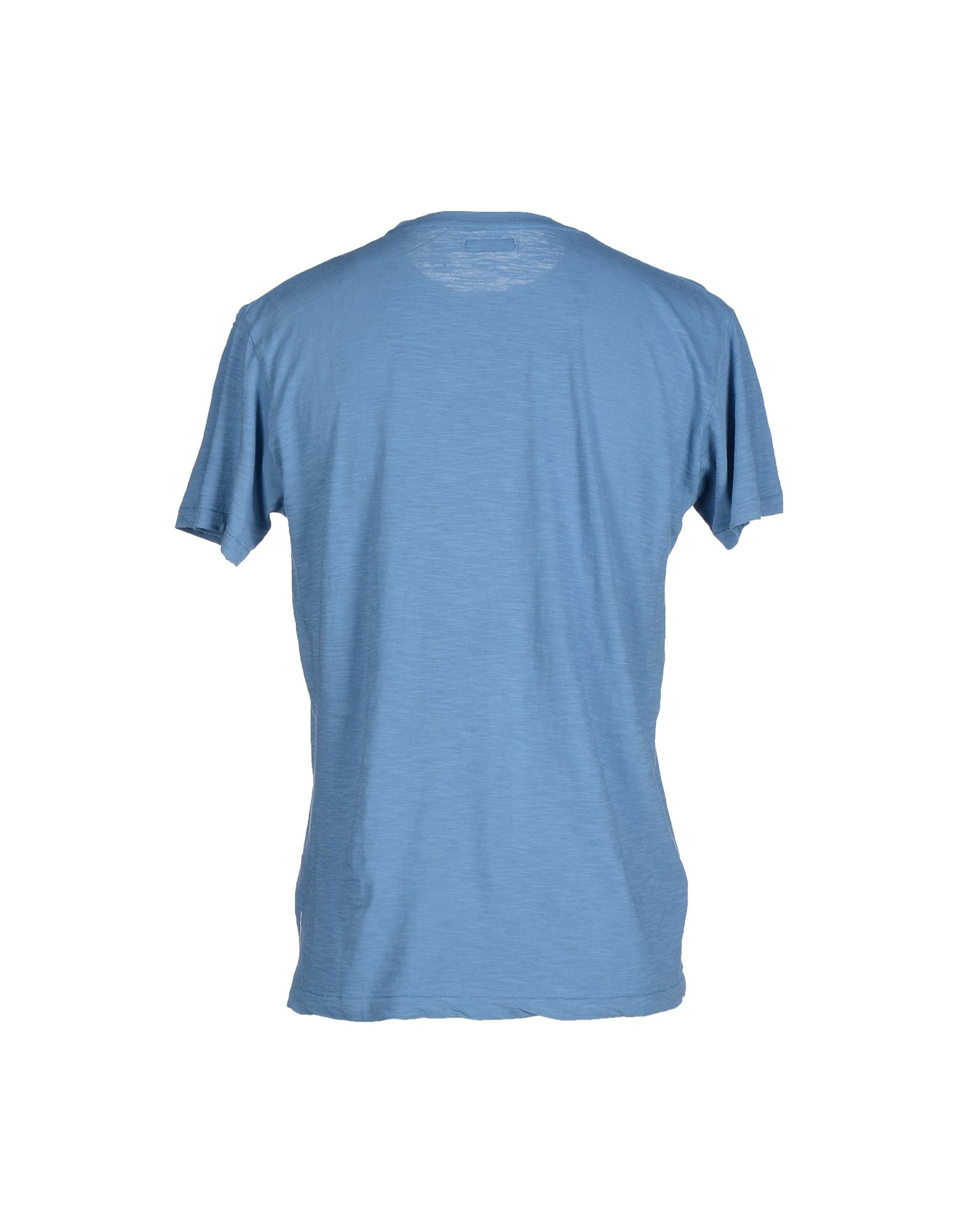 Bomboogie t shirt in blue for men pastel blue lyst for Pastel colored men s t shirts