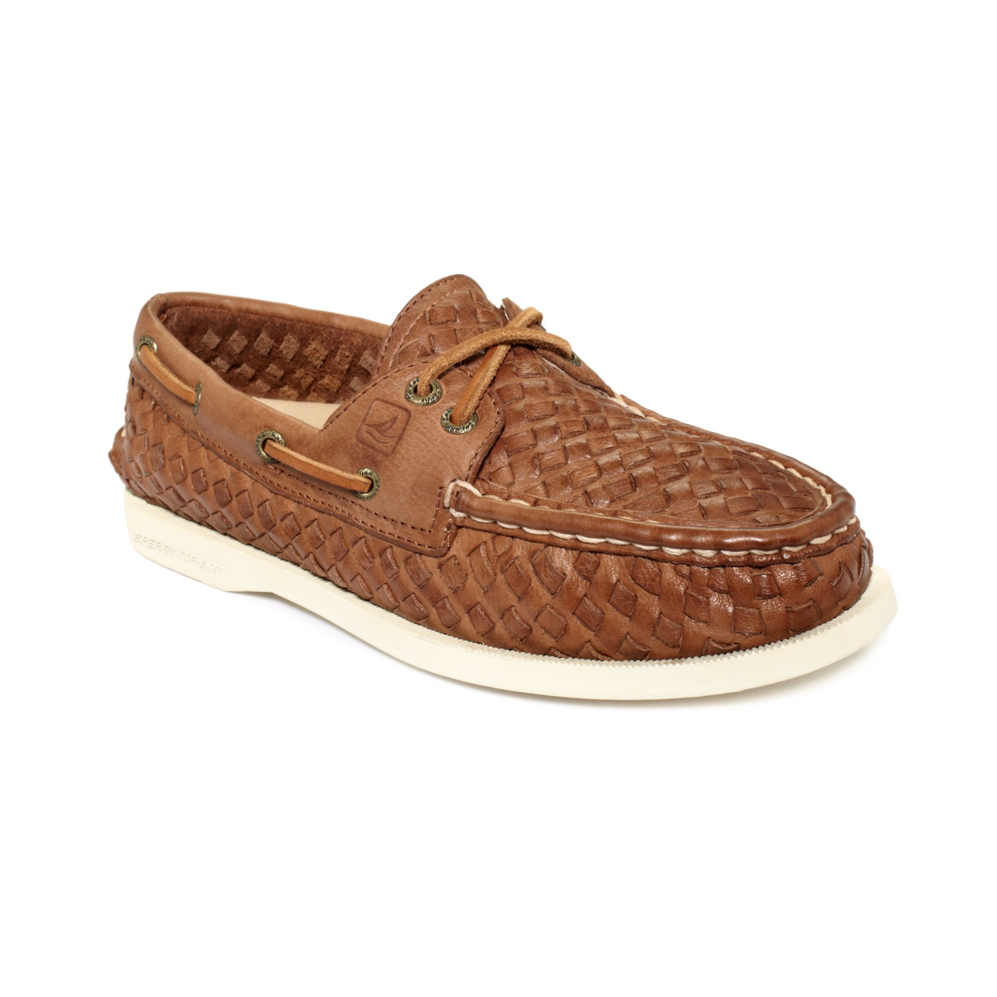 Lyst - Sperry Top-Sider Womens Ao Boat Shoes in Brown 7bfecd0997