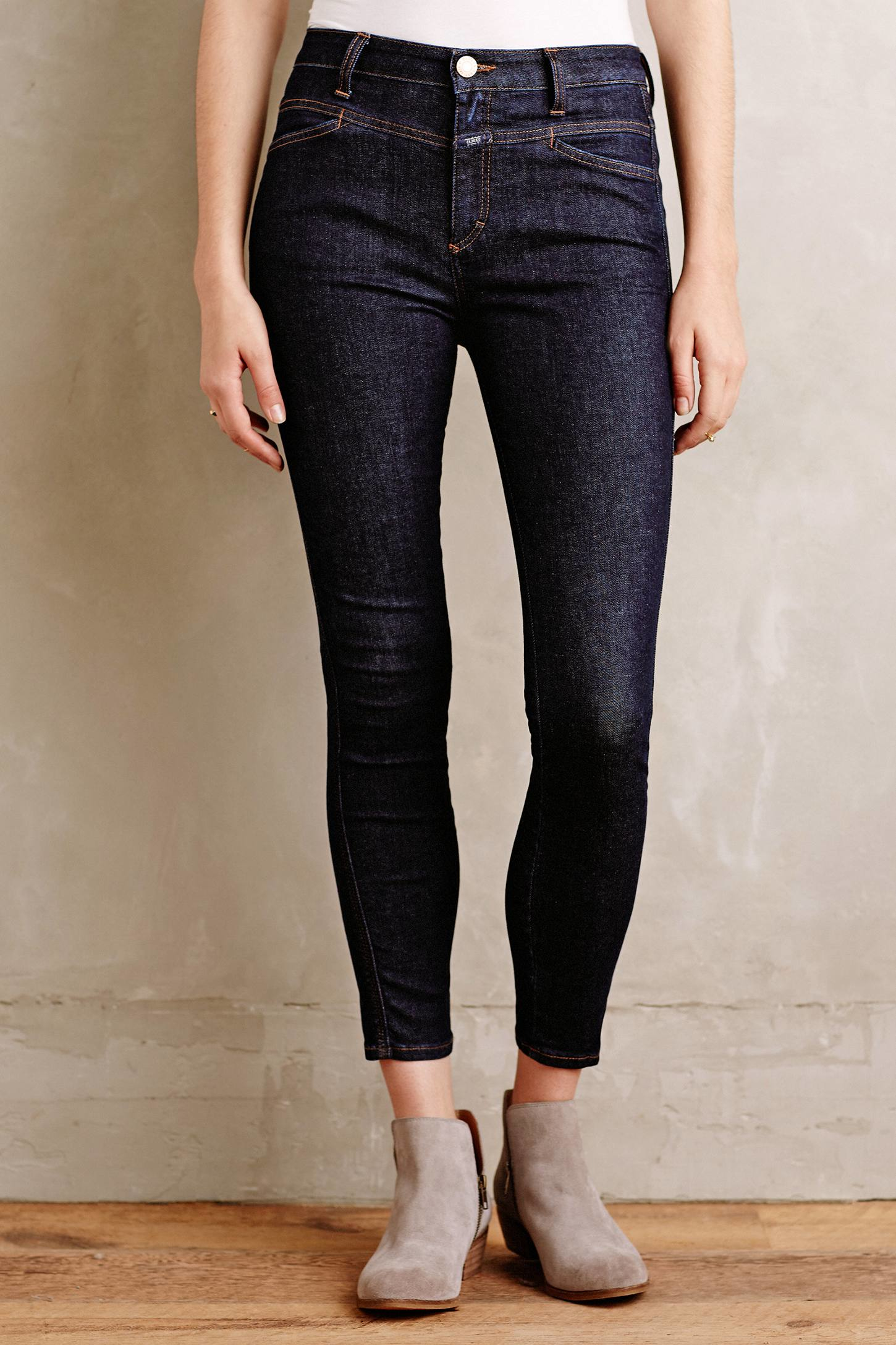 Pusher skinny jeans - Blue Closed M8yHOXL