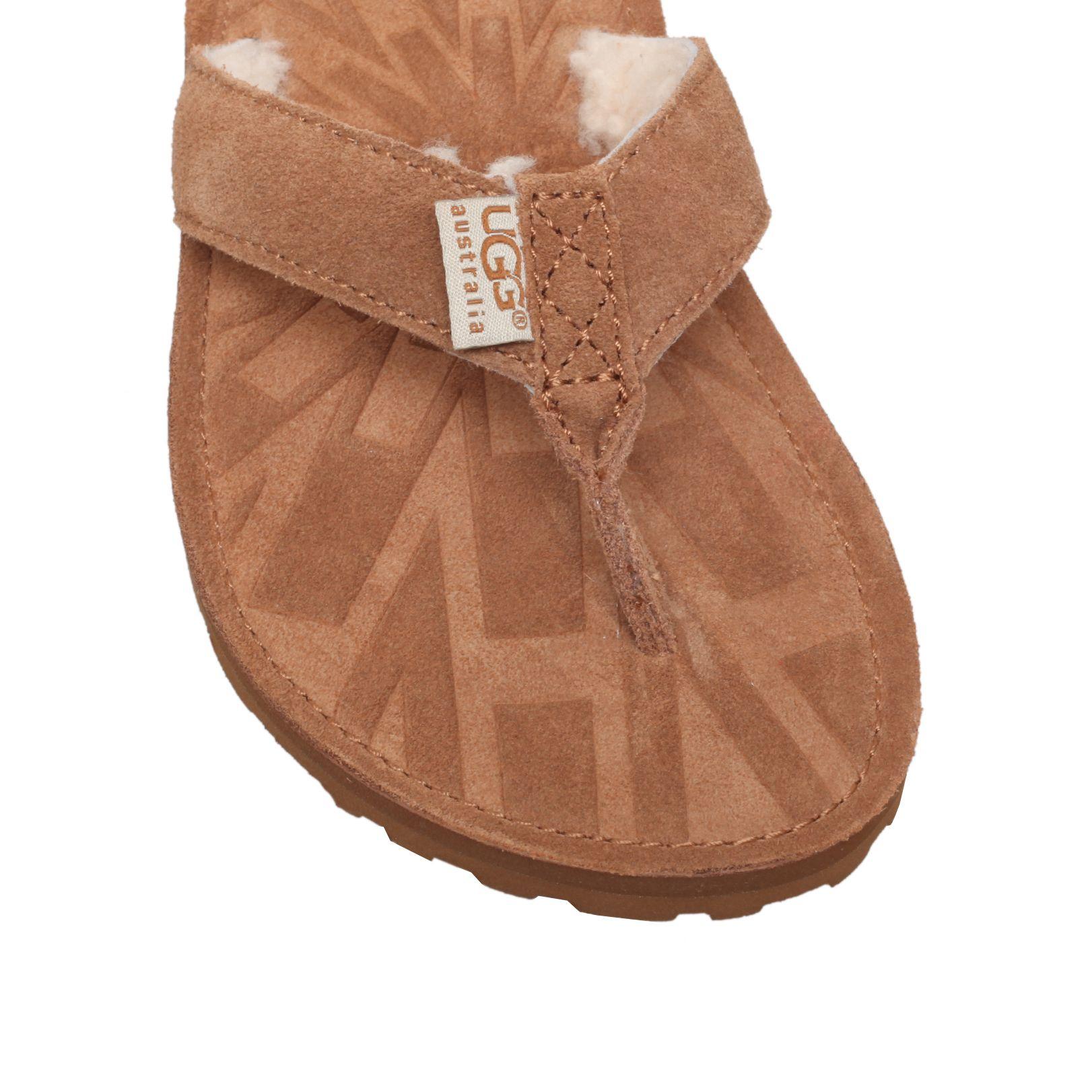 97a16bacb6fd Ugg Tasmina Flat Toe Post Sandals
