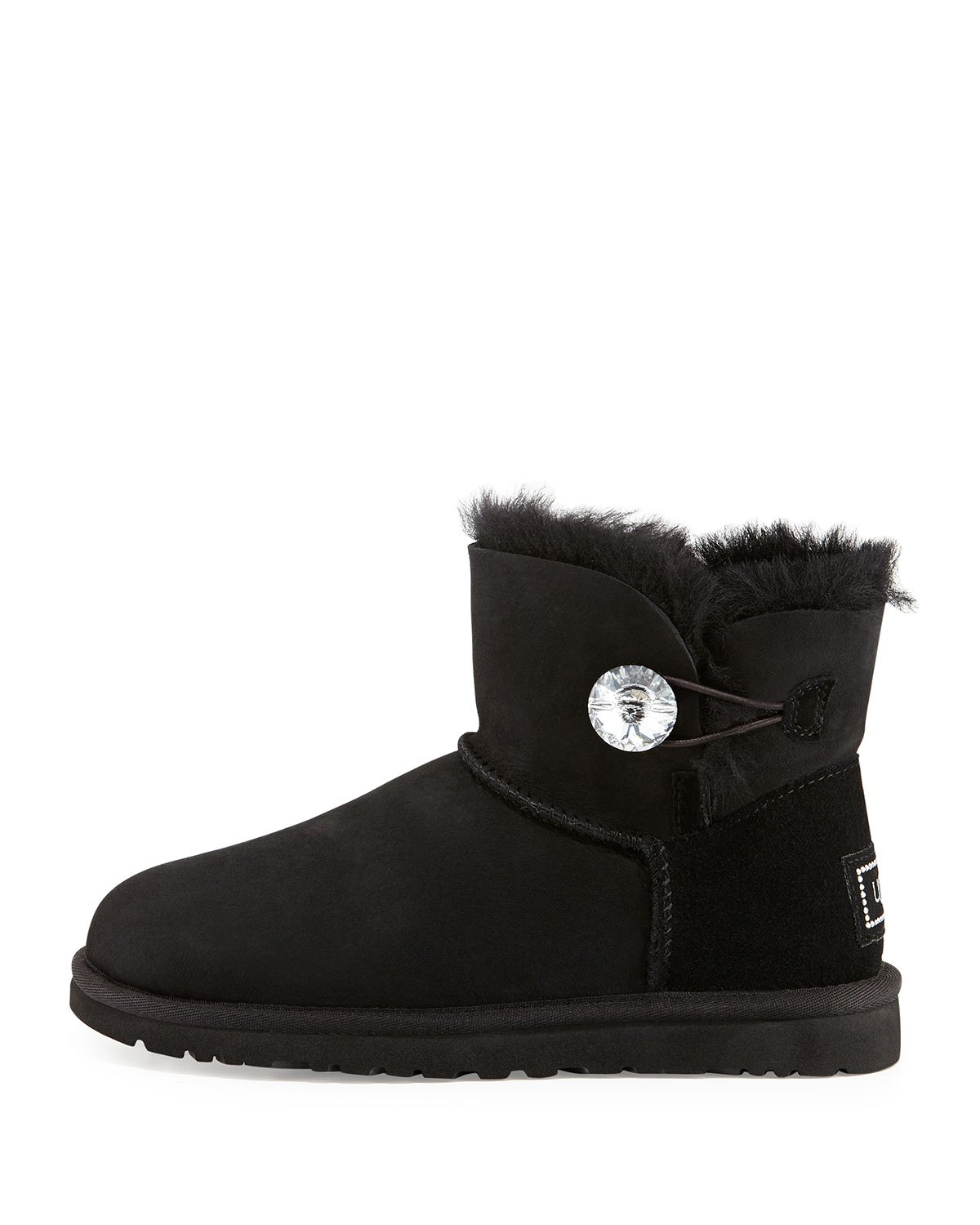 3ed7e3b0021 Ugg Boots With Crystal Button