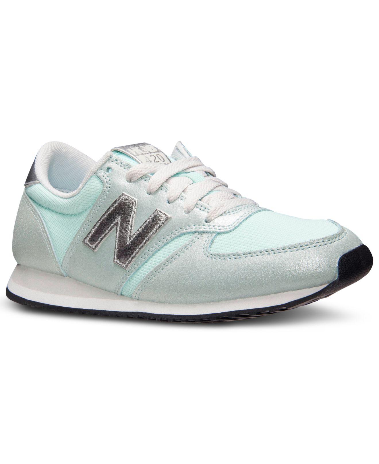 new balance women's heidi klum 420 casual sneakers