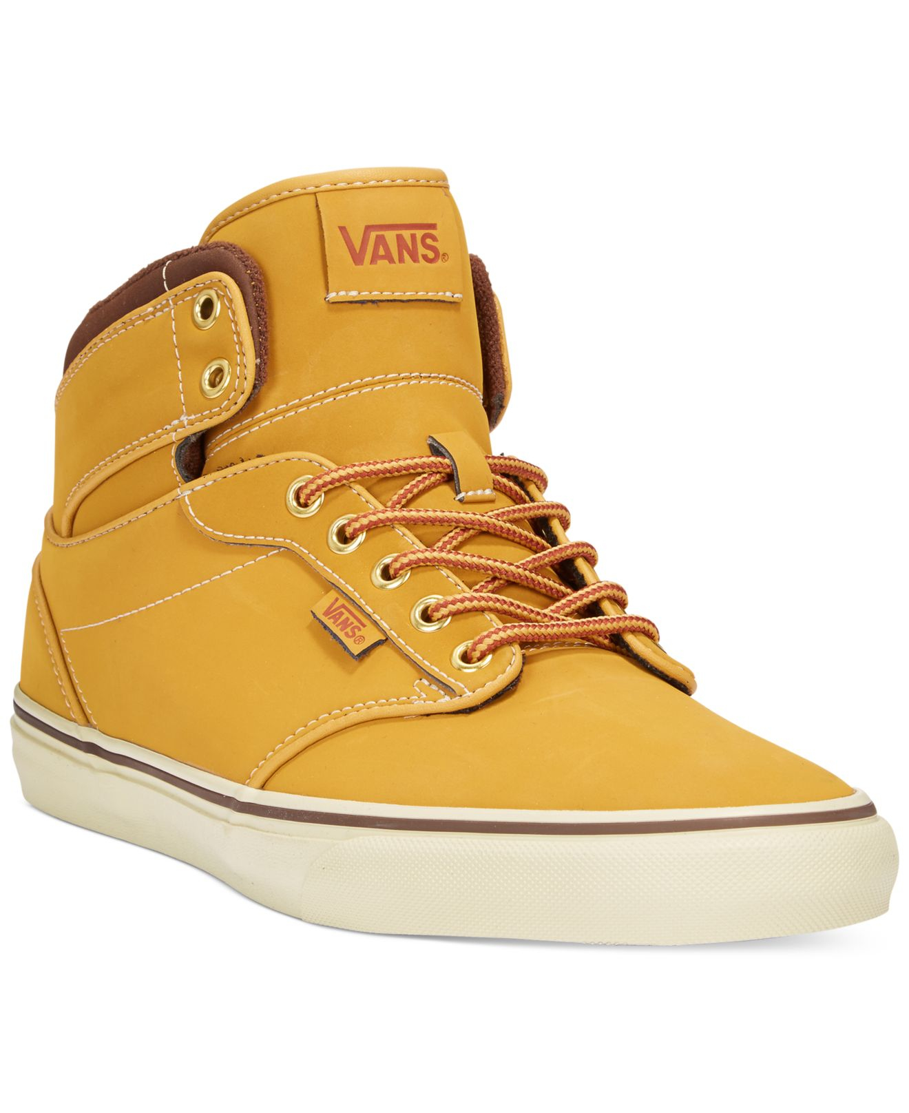 3f8d121acaa1 Lyst - Vans Men s Atwood Hi Sneakers in Orange for Men