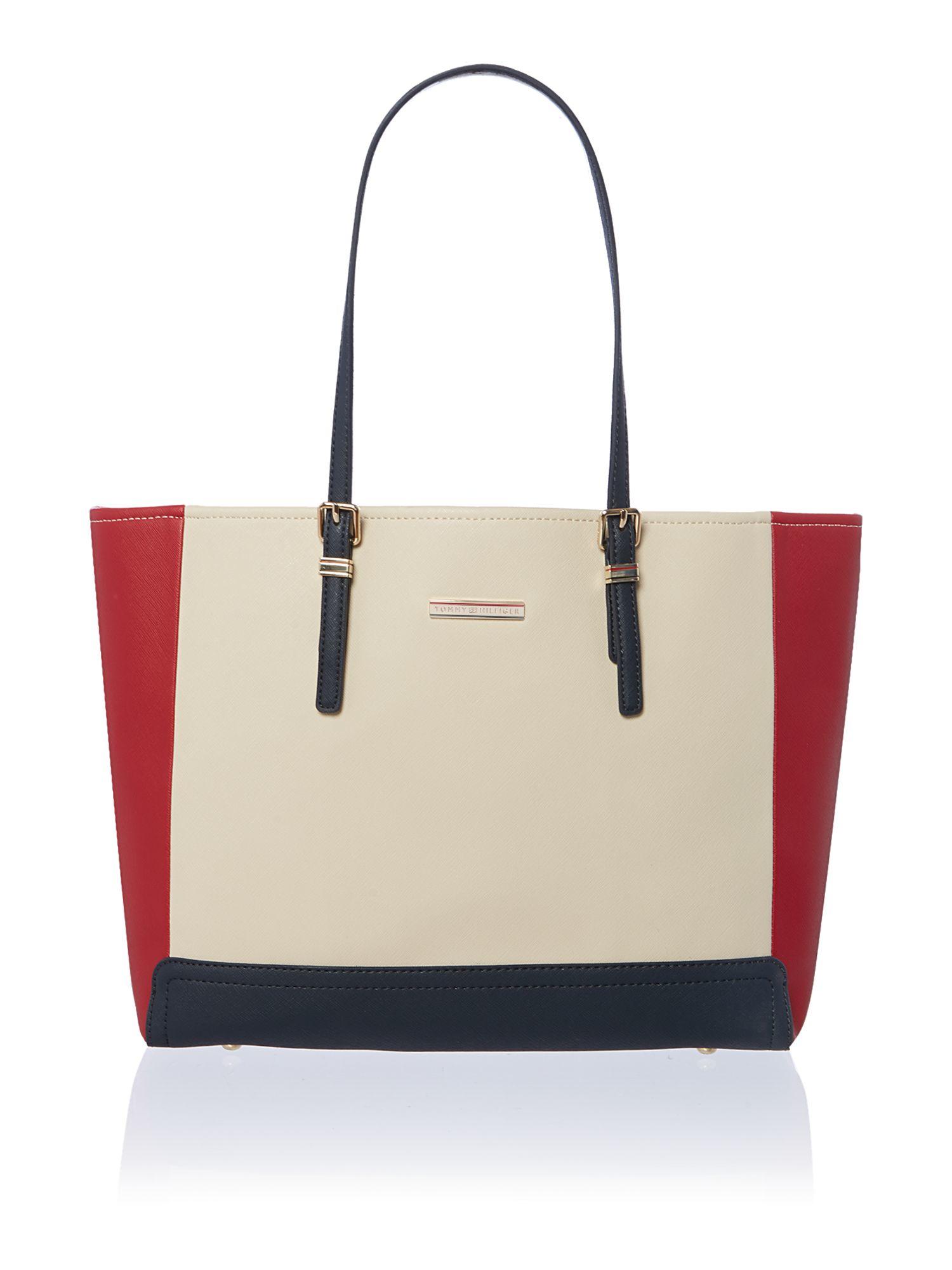 Raffia Tote Bag - Sales Up to -50% Tommy Hilfiger QIEx7D7RyE