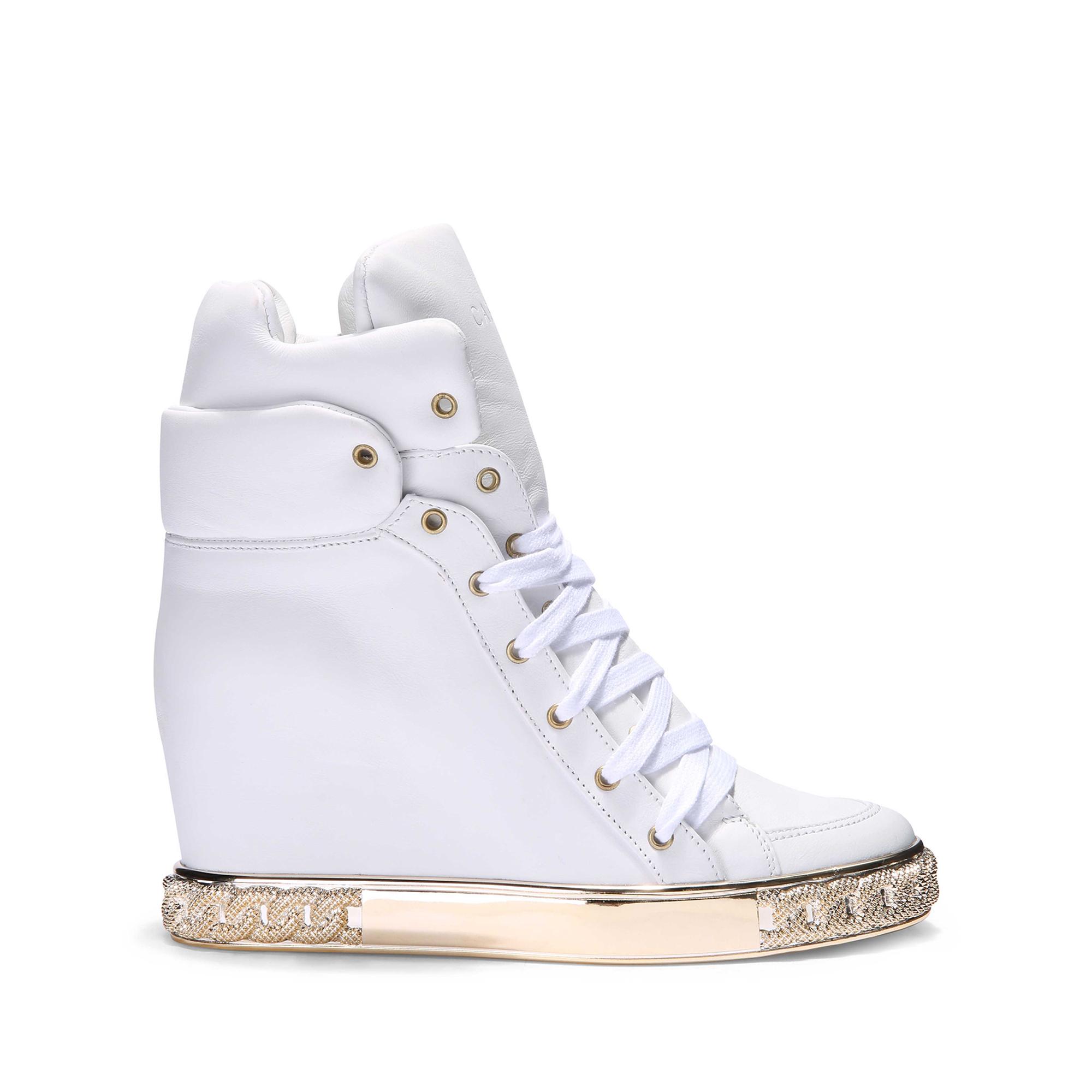 238dacef08f Lyst - Casadei Sneaker in White