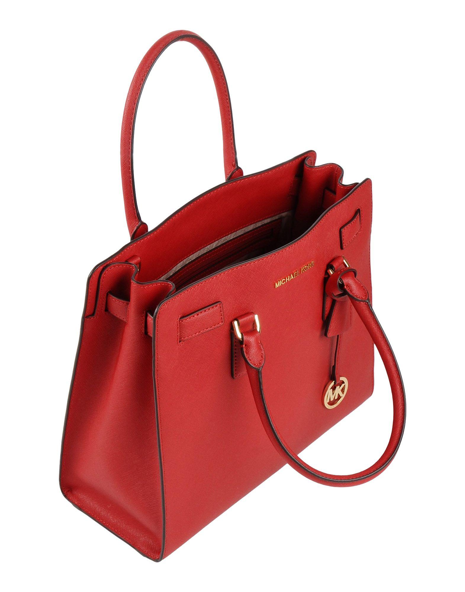 ff7bb1ea286b MICHAEL Michael Kors Handbag in Red - Lyst