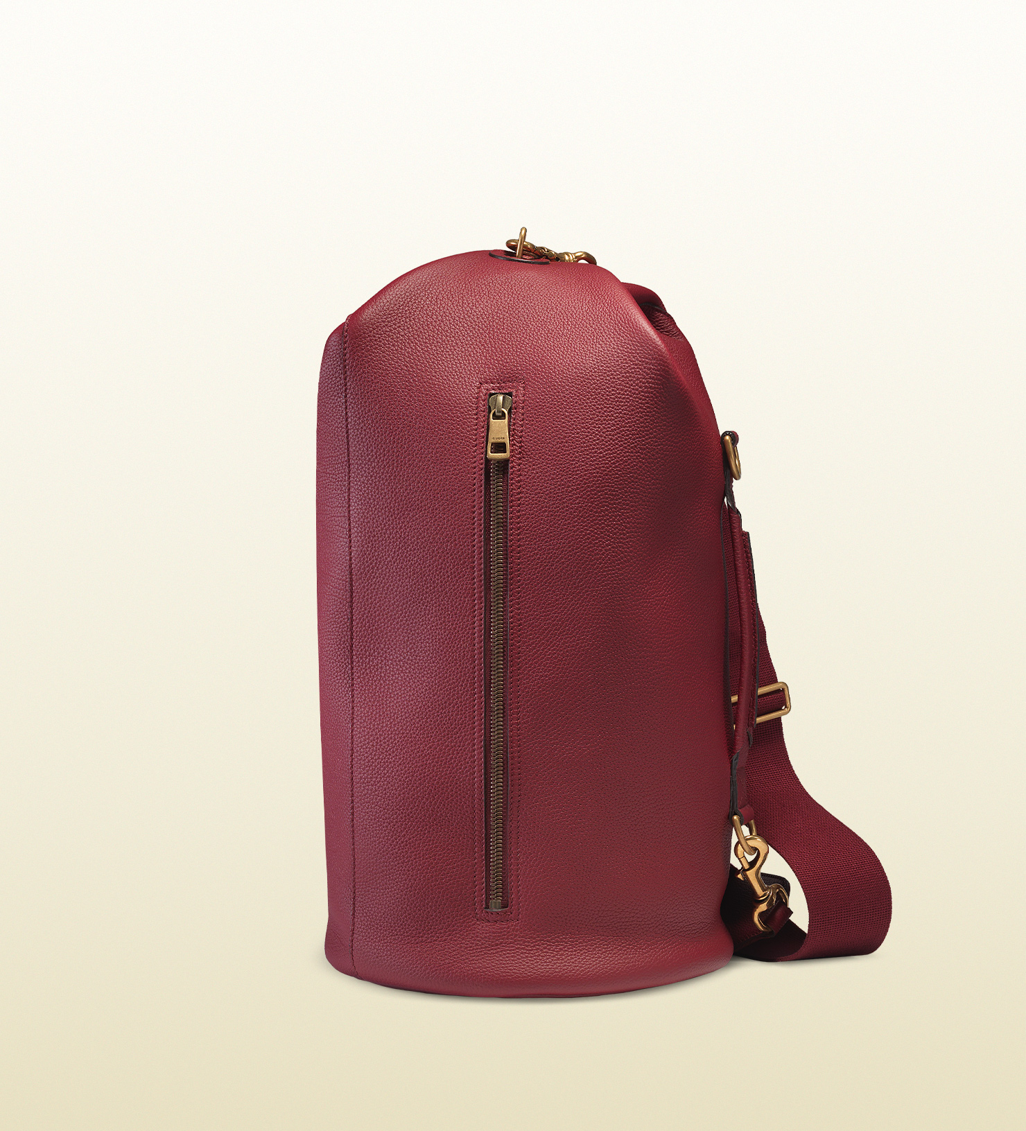 82efd96ebcde Lyst - Gucci Leather Backpack in Red for Men