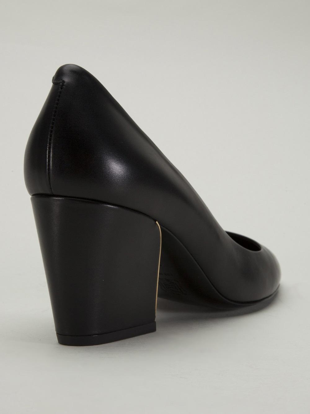 Chunky Pump Heels